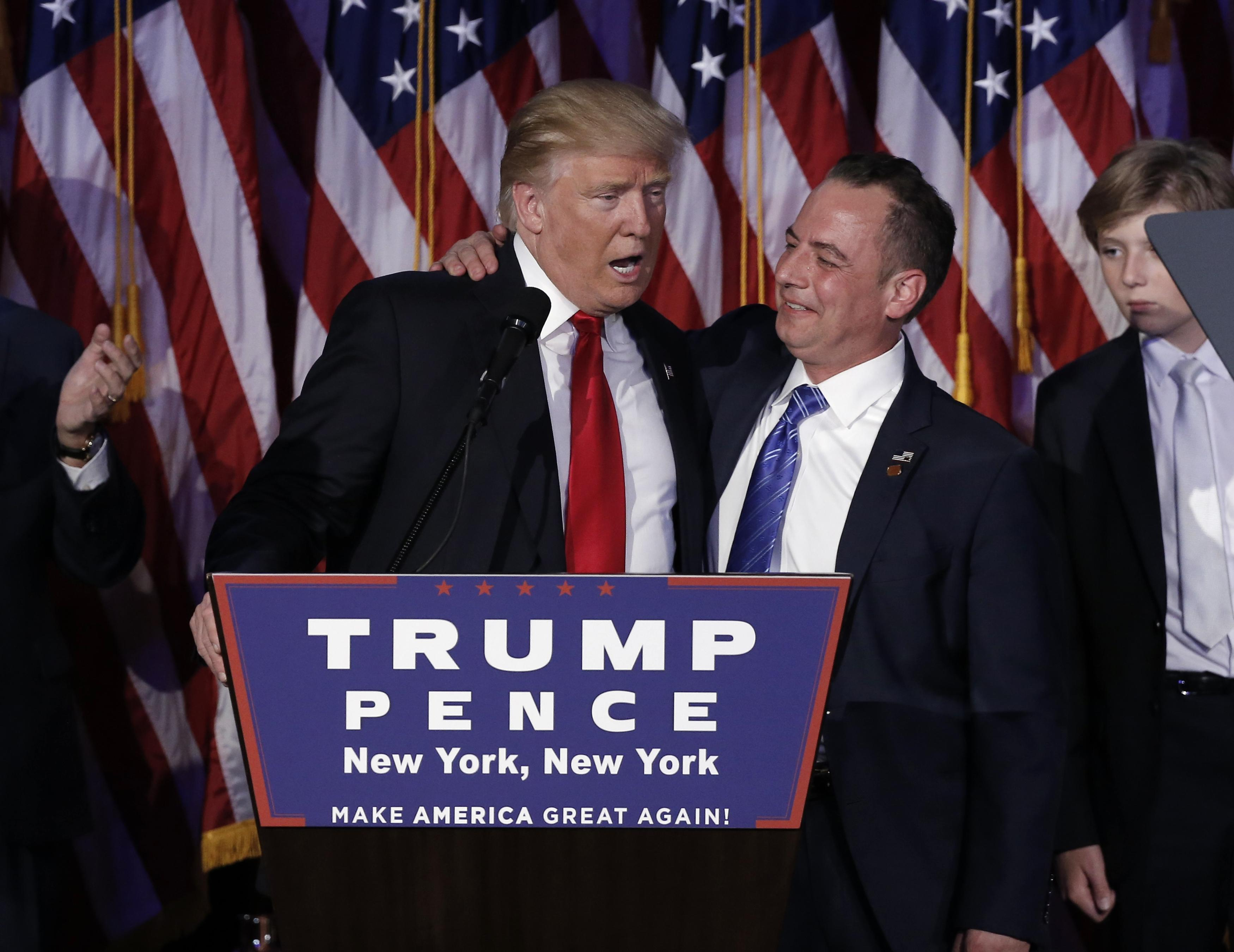 Trump and Priebus