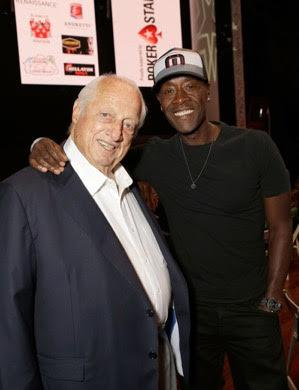 Don Cheadle, Tommy Lasorda