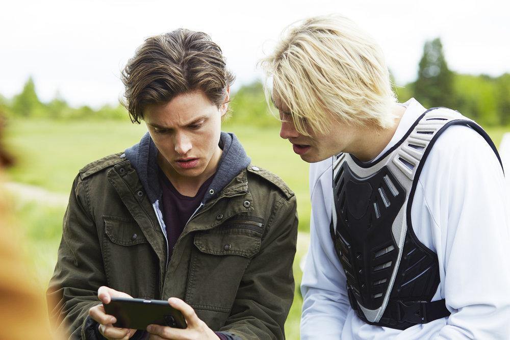 Tyler Young as Philip, James Paxton as Lukas