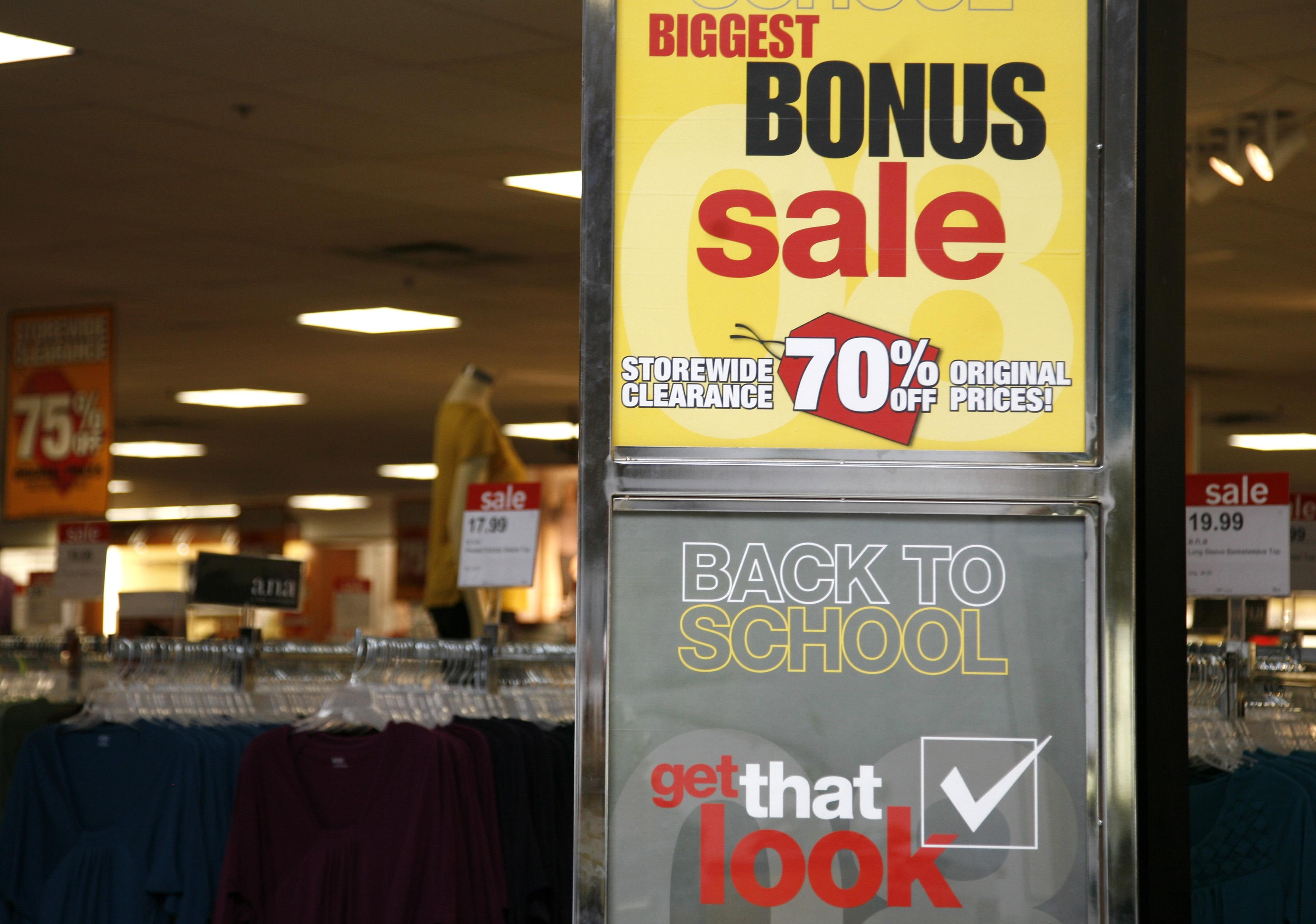 Major department stores sued for fake 'sales'