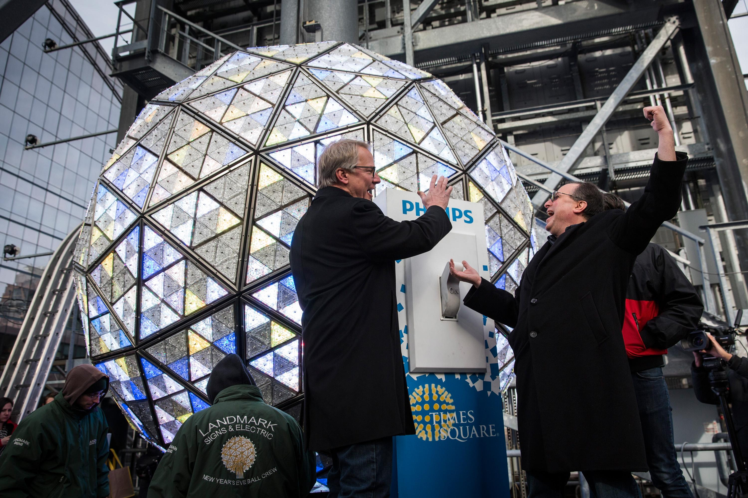 Times Square Ball Drop Location