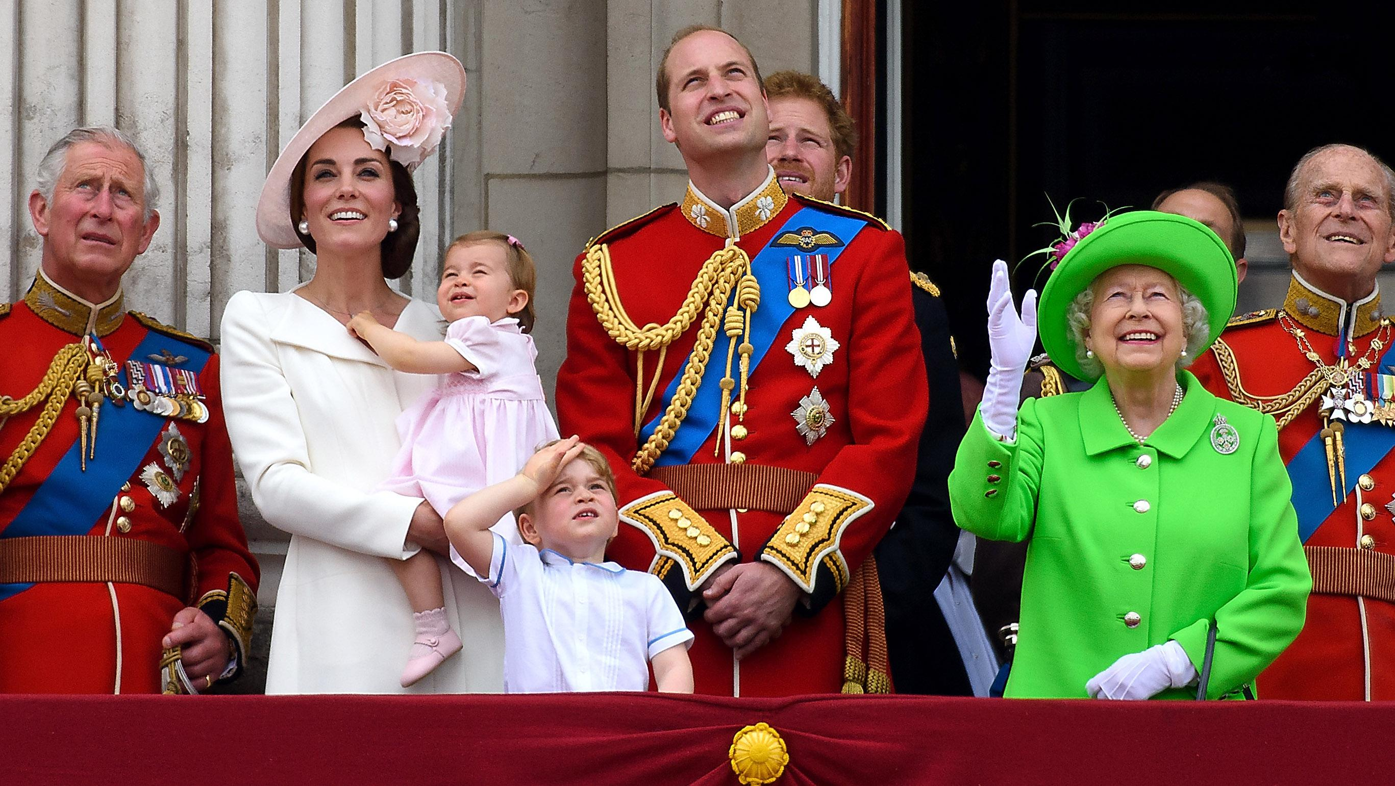 Royal family, prince charles, queen elizabeth, william, kate