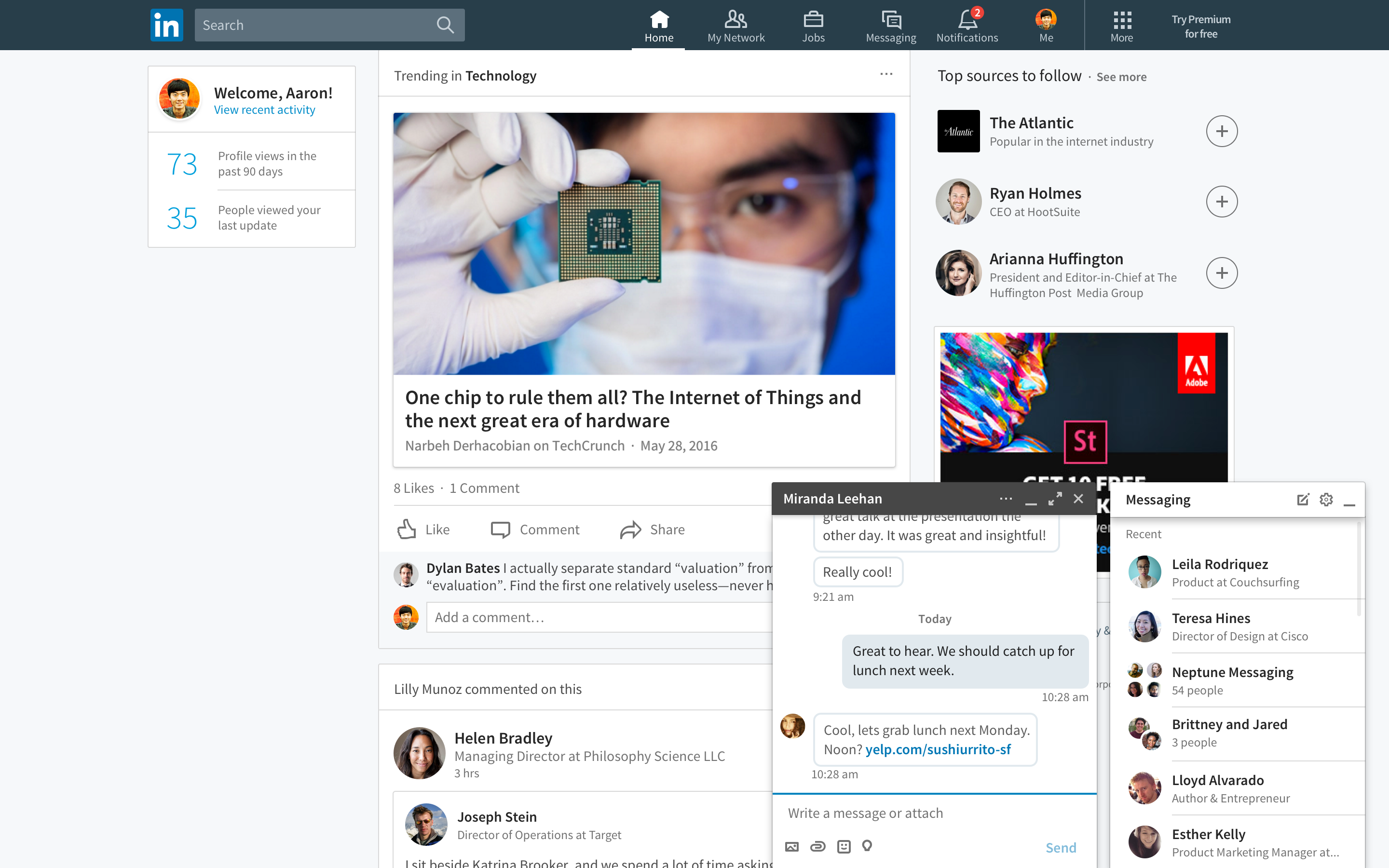 LinkedIn's redesign changes everything for the better