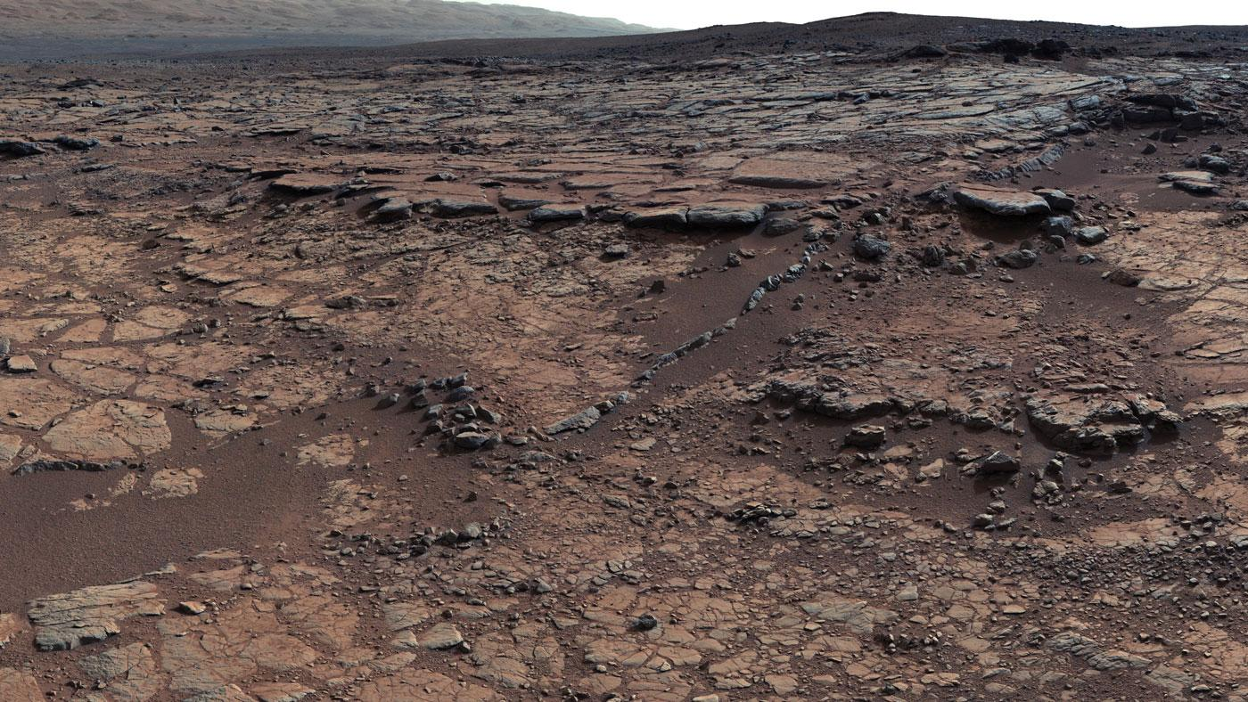 Mars' liquid water may have had an atmospheric