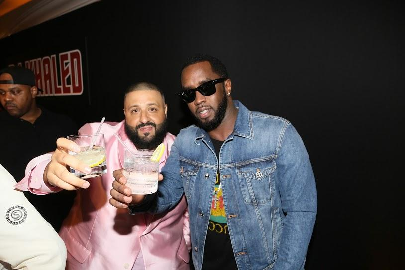 "DJ Khaled and Sean ""Diddy"" Combs"