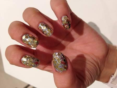 "Metallic Muse"" Manicure At Mars The Salon"