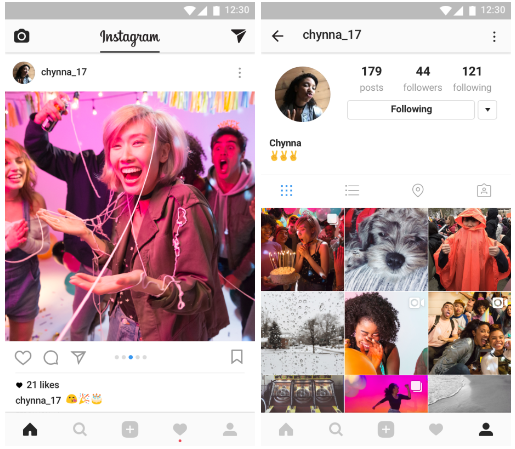 New Instagram slideshow/carousel update