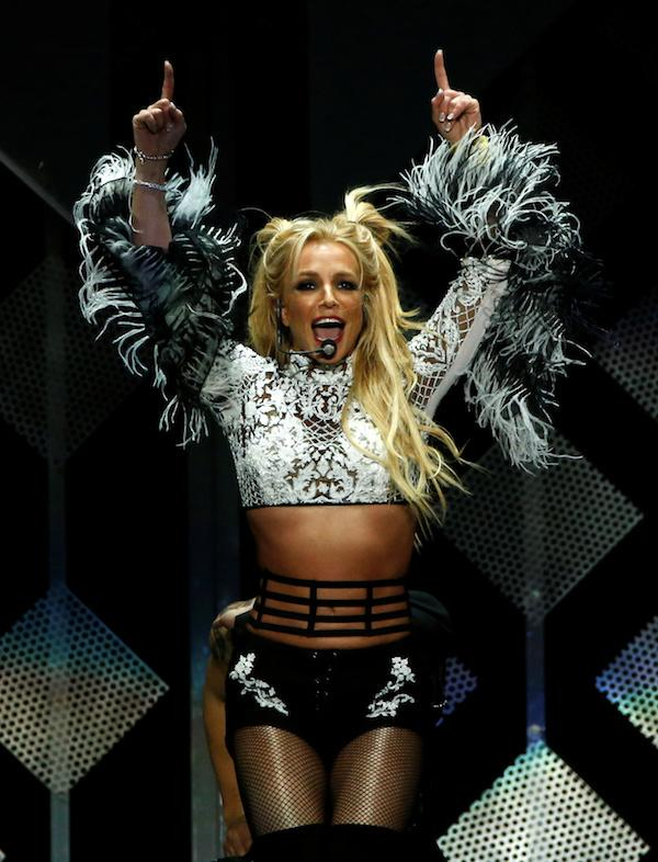 Britney Spears Does Herkie Jump For The Coming Of Spring In Instagram Video