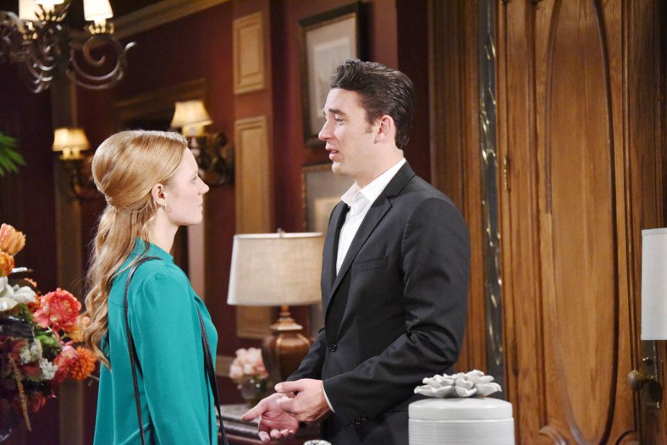 """Chad and Abigail on """"Days of Our Lives"""