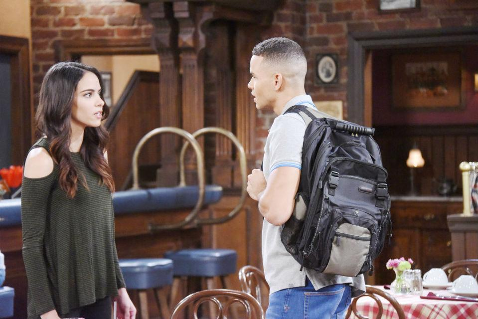 """Ciara and Theo on """"Days of Our Lives"""
