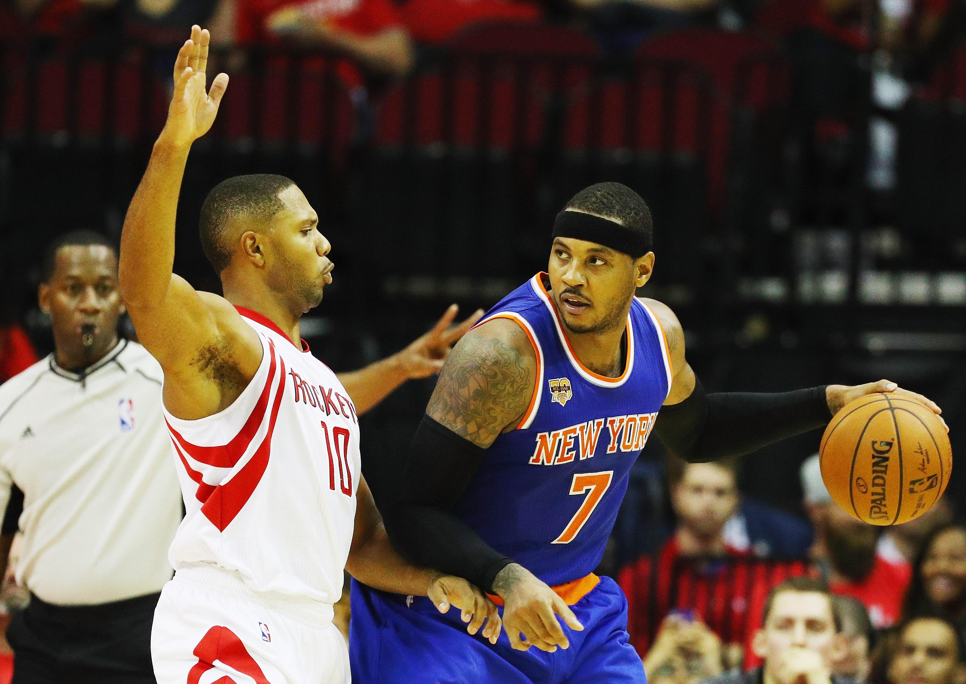 Will The New York Knicks Trade Carmelo Anthony? Houston Rockets Not A Lock To Acquire All-Star