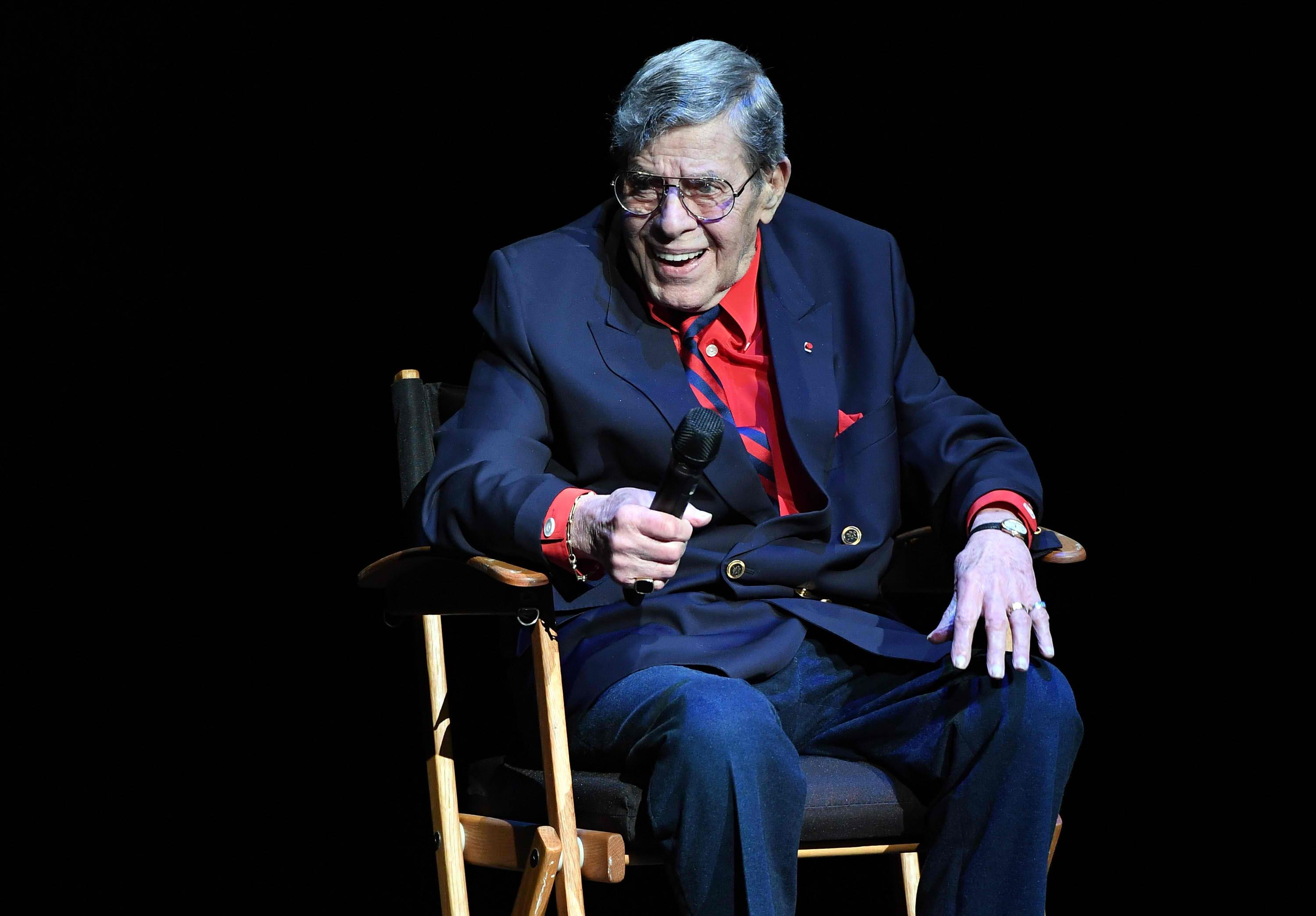 'A genius comedian': Hollywood says goodbye to Jerry Lewis