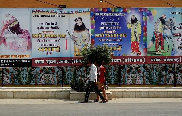 Tight security ahead of Dera chief's sentencing on Monday