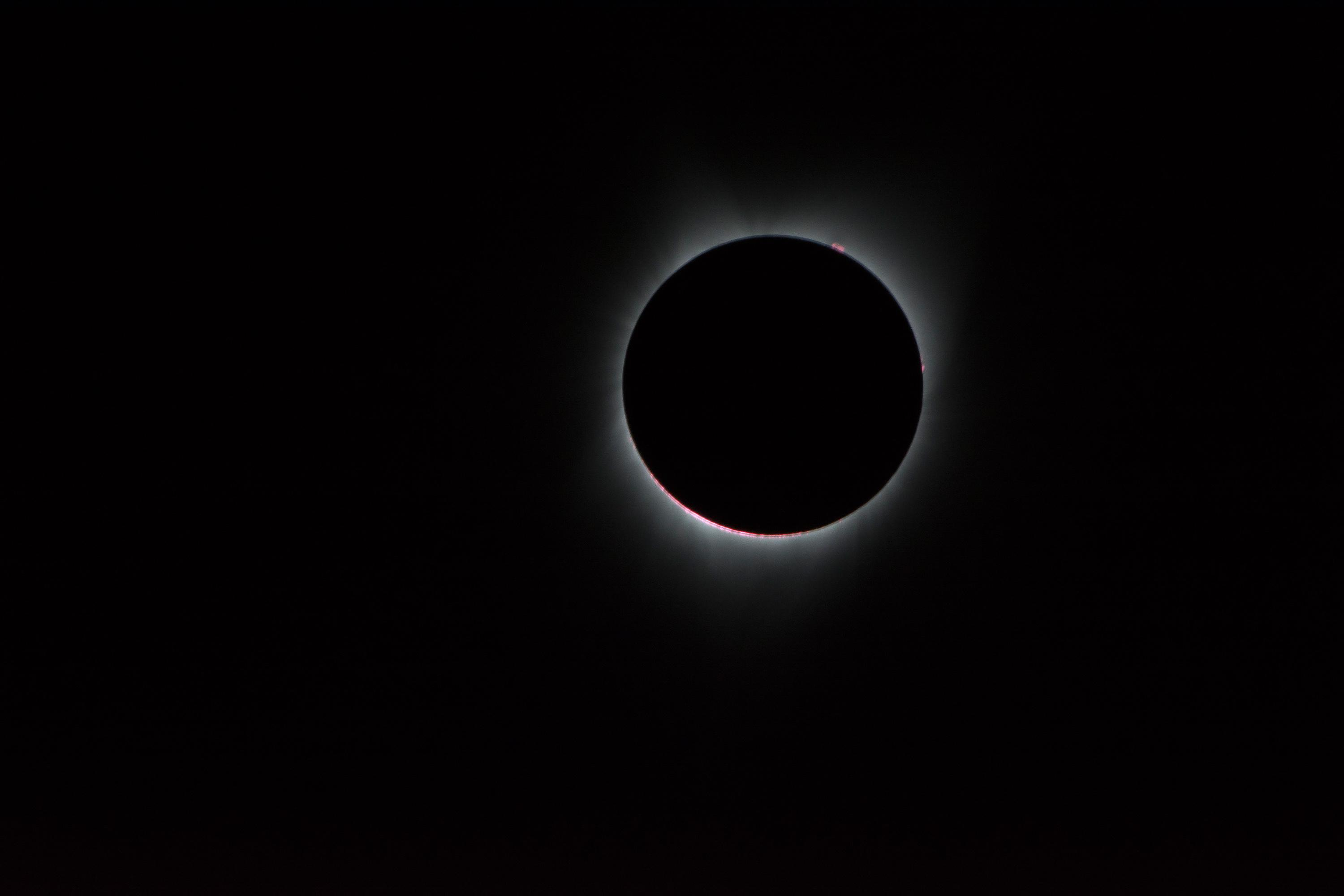 corona during eclipse
