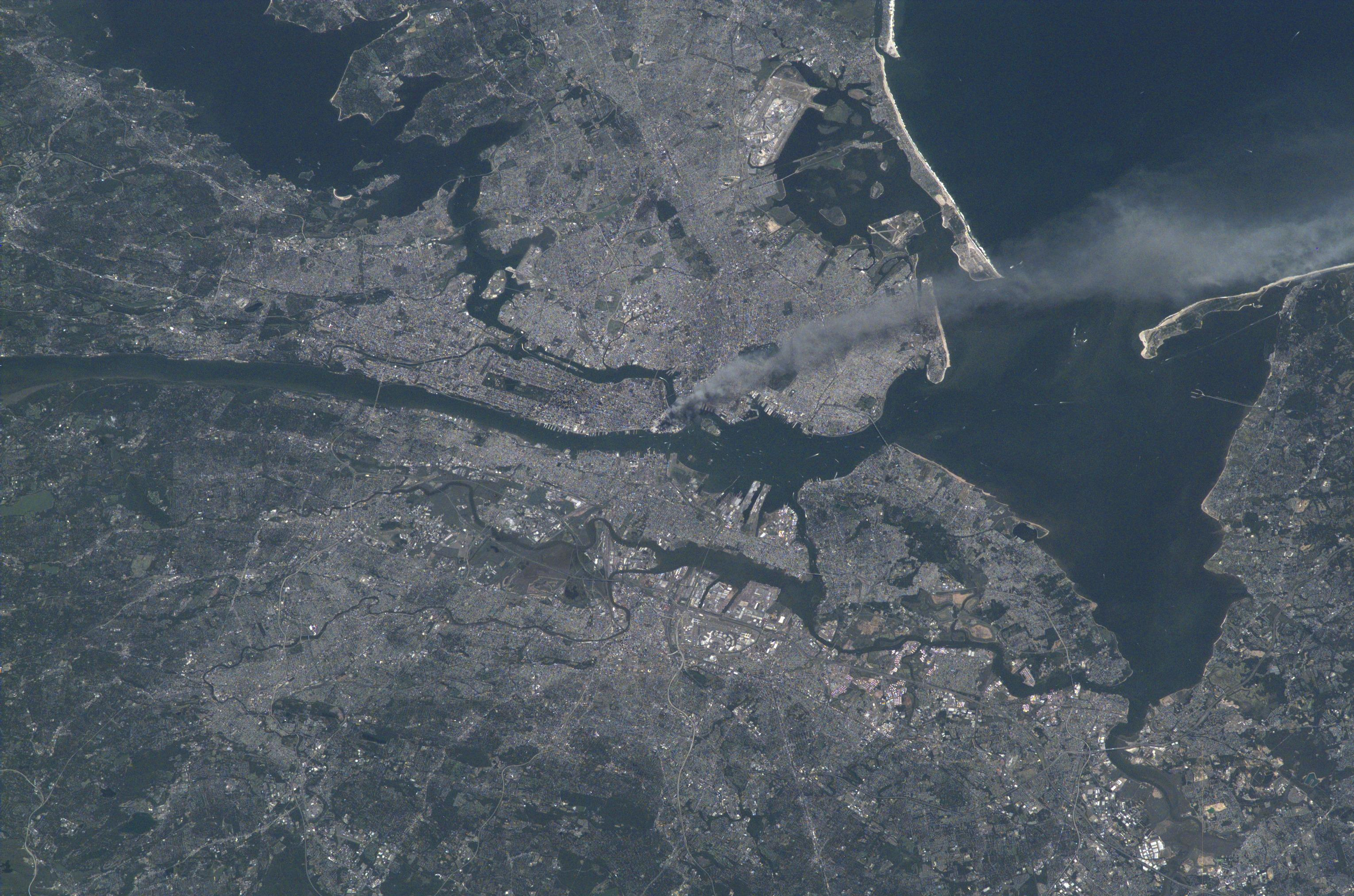 NYC911 From ISS