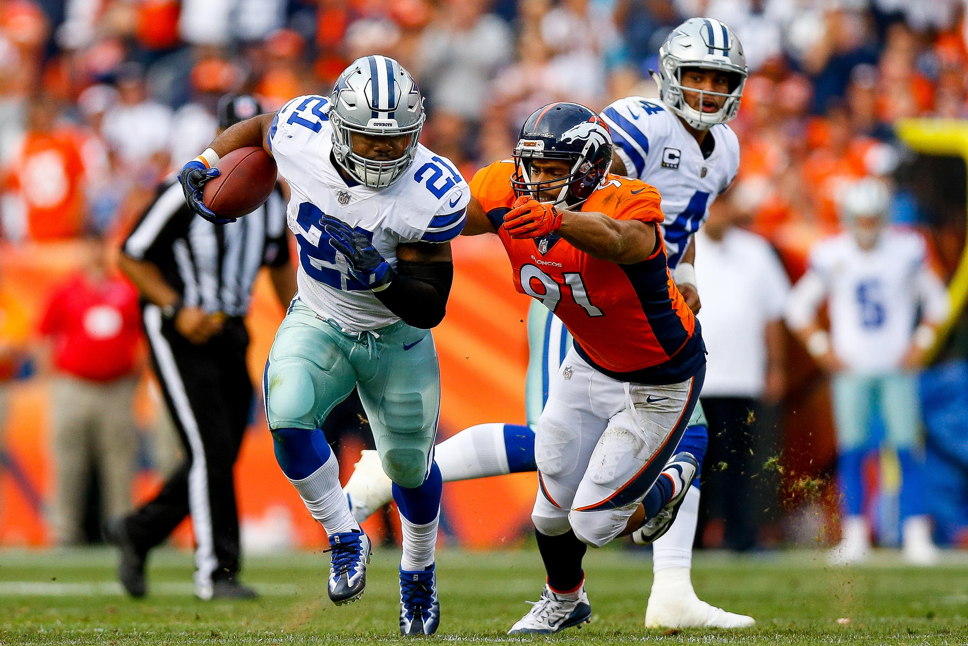Ezekiel Elliott Takes Responsibility For Lack Of Effort vs. Broncos