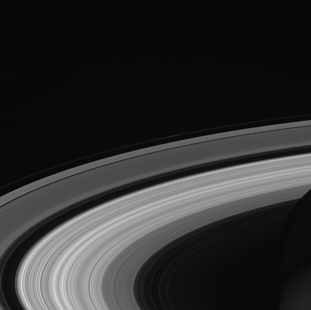 Before Saturn S Rings Formed