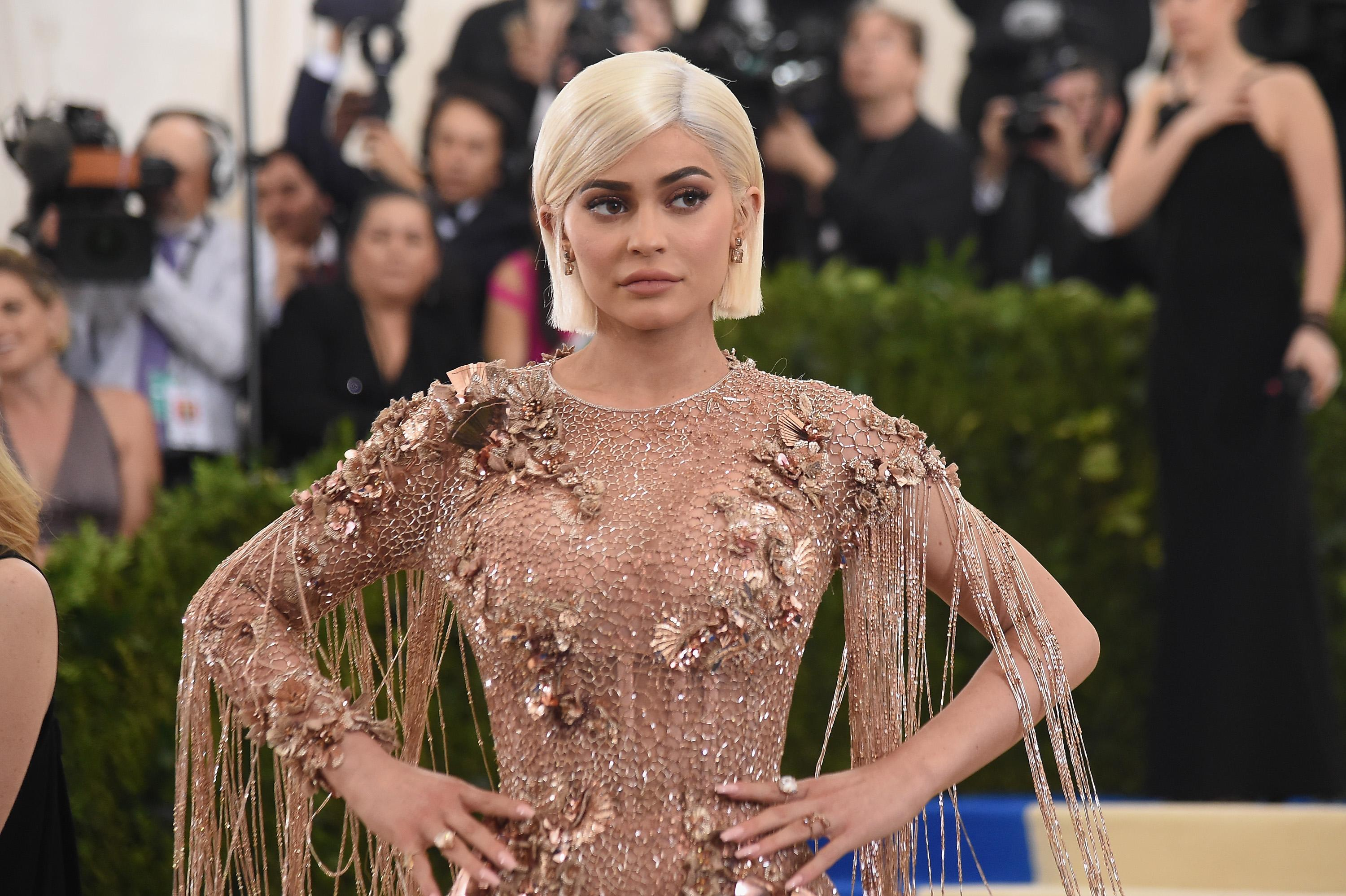 Kylie Jenner 'self-conscious about body changing'