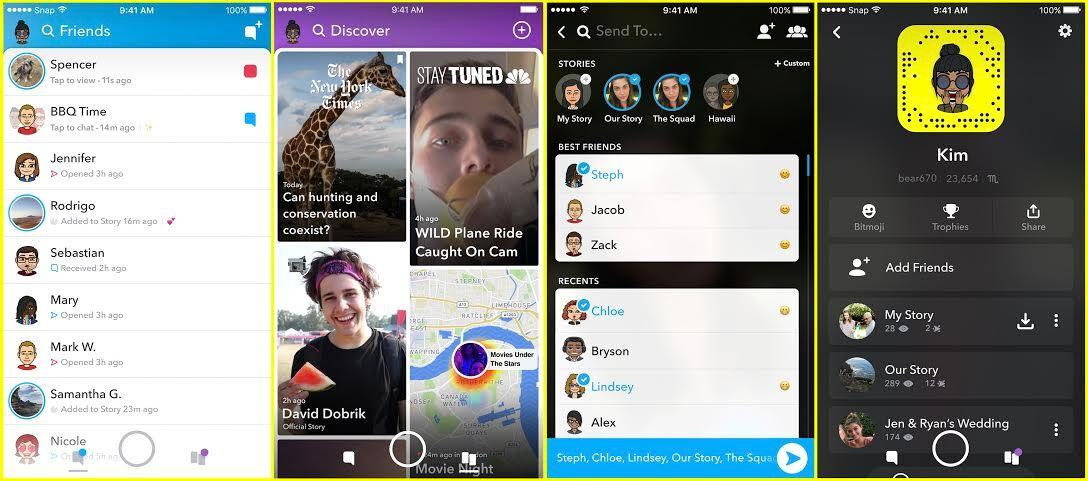 redesigned Snap