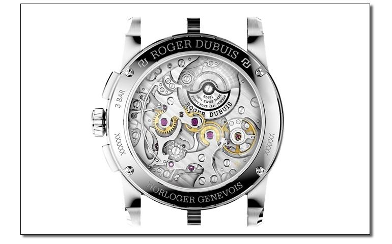 Roger Dubuis - Excalibur Chronograph (back)
