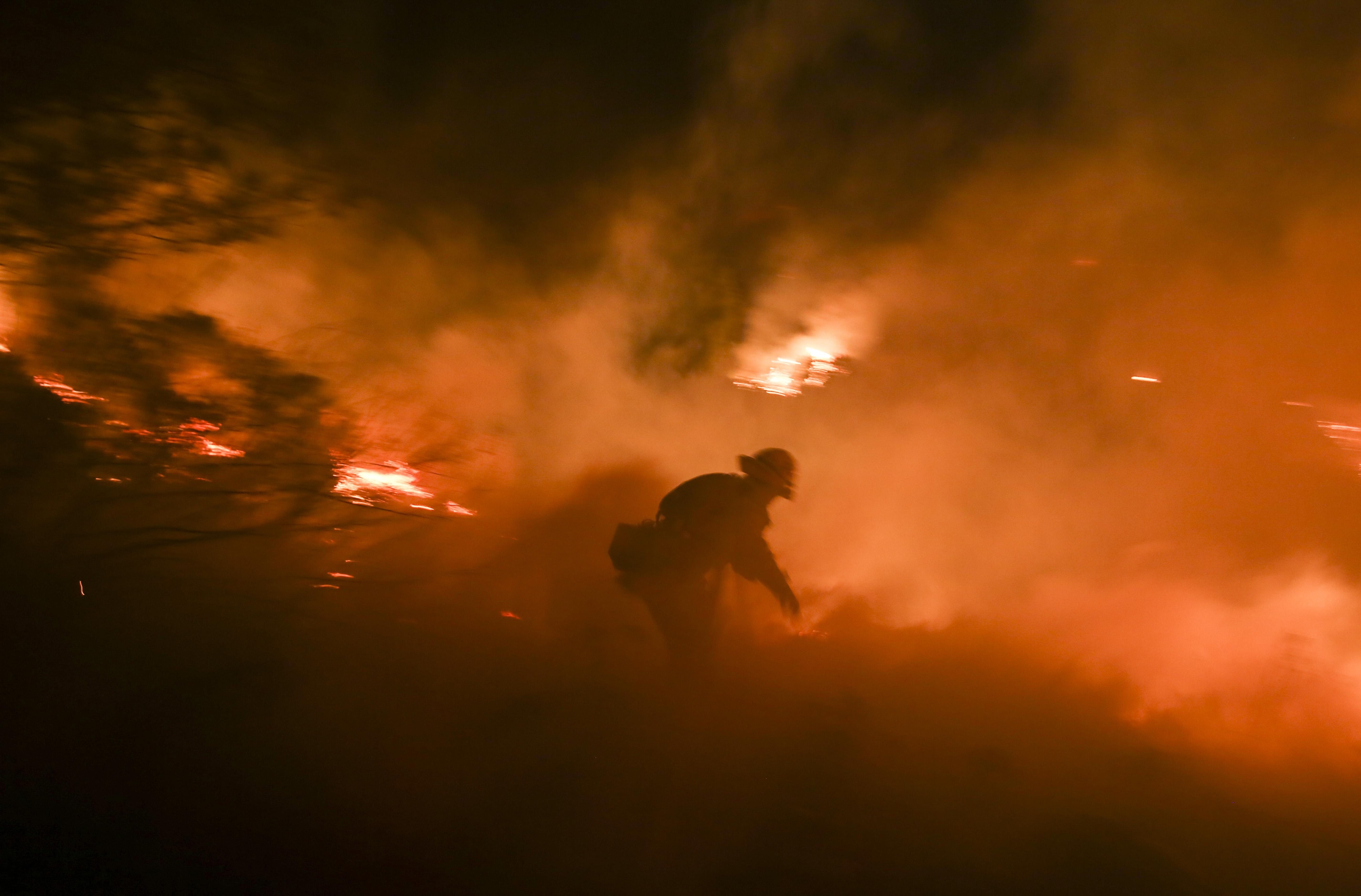 Sylmar Creek Fire Update >> Creek Fire Update: Sylmar, Kagel Canyon Wildfire Continues To Grow