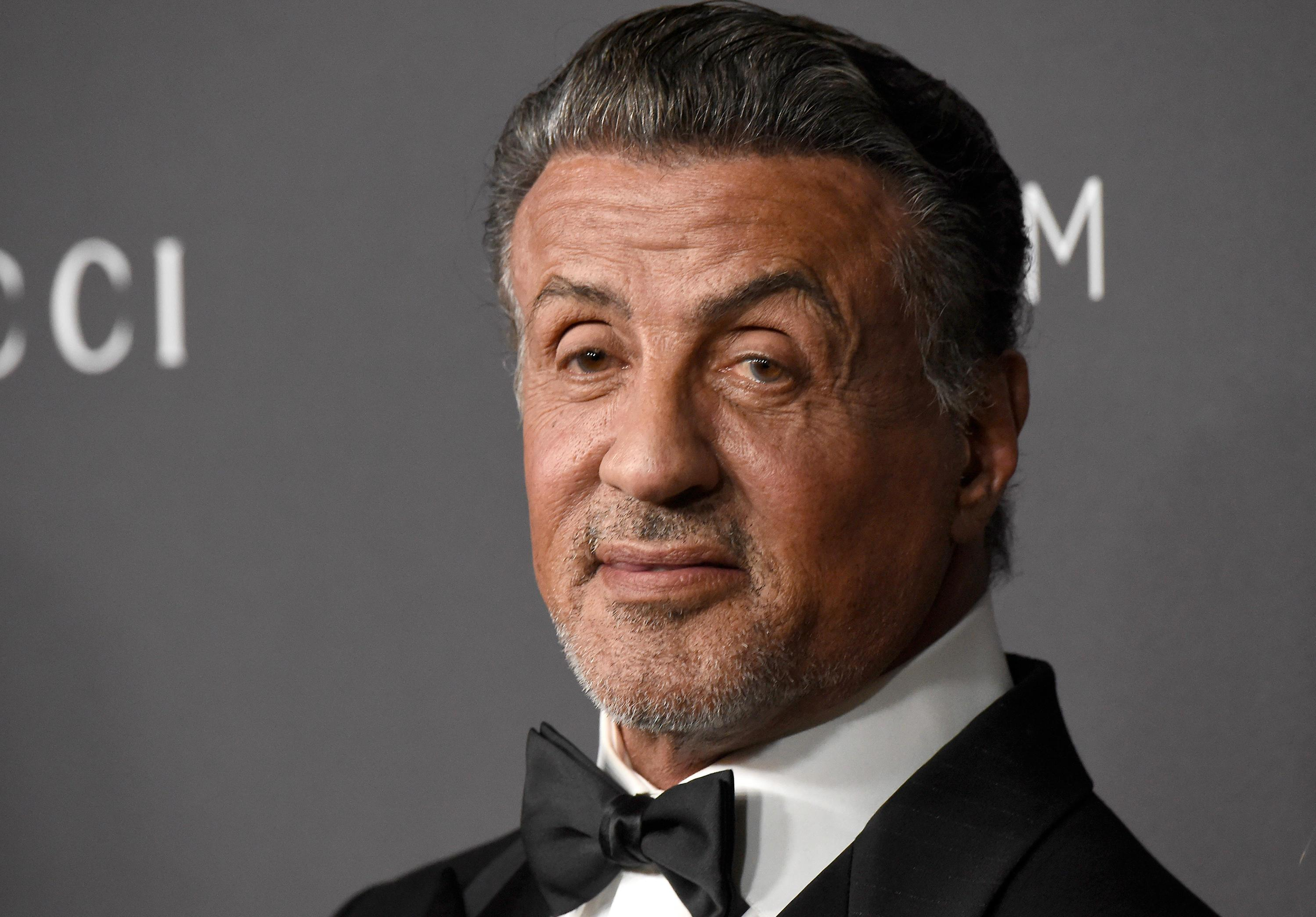 Sylvester Stallone's Christmas present to himself will have you seeing double