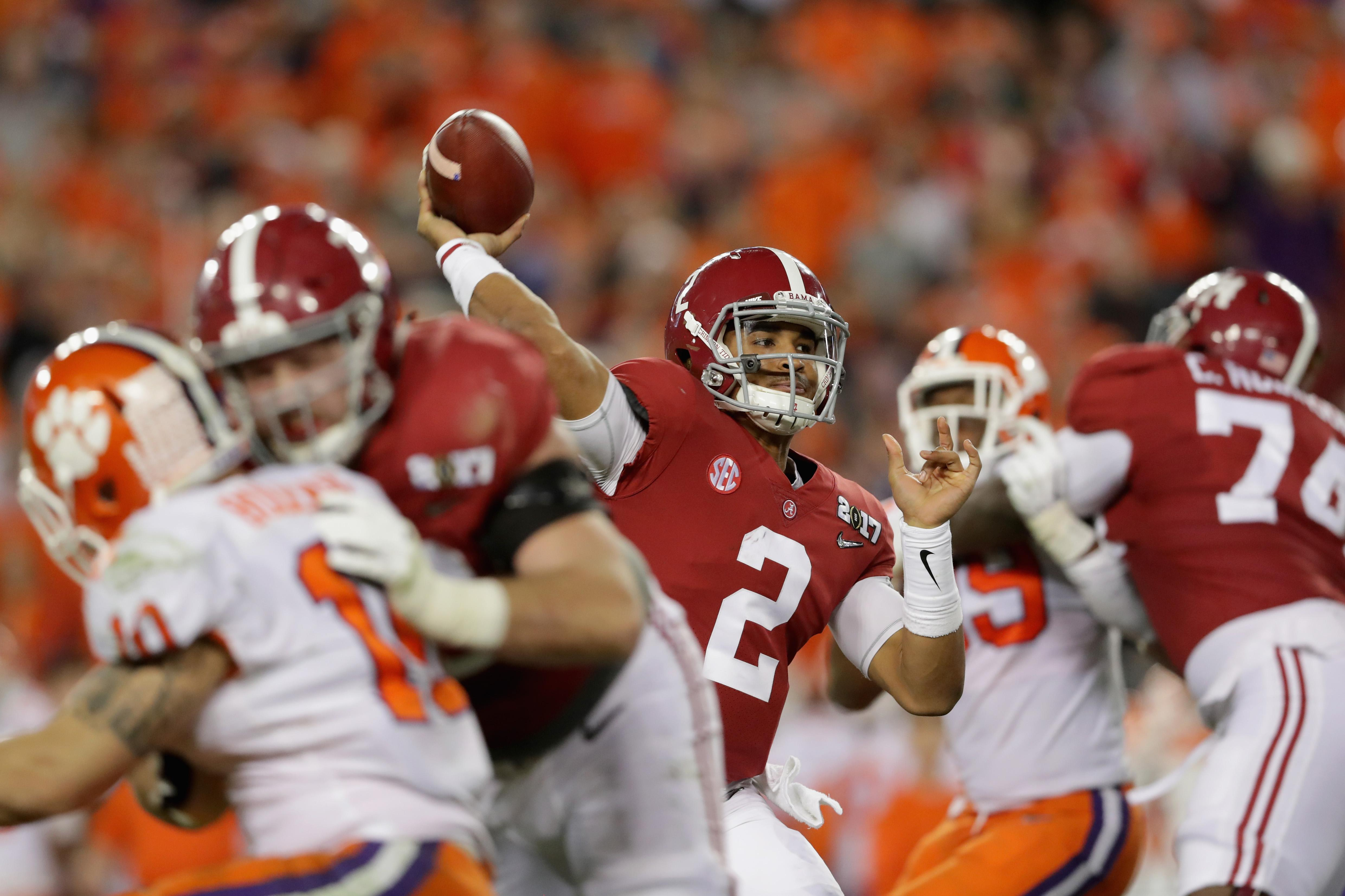 Jalen Hurts Alabama Clemson