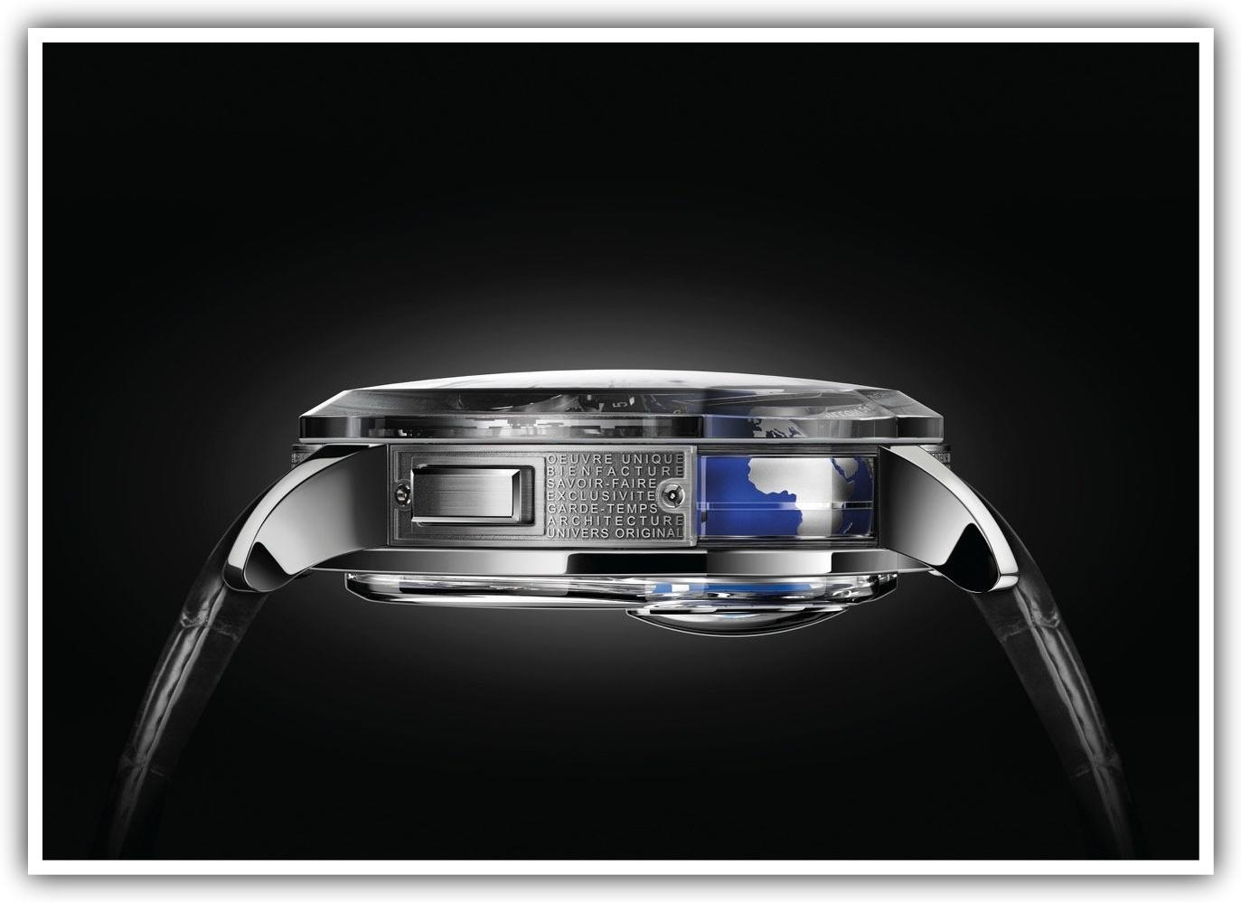 Greubel Forsey GMT Earth side view