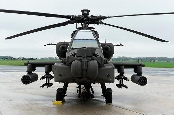 US Army Apache Helicopter Crashes In California, Killing 2