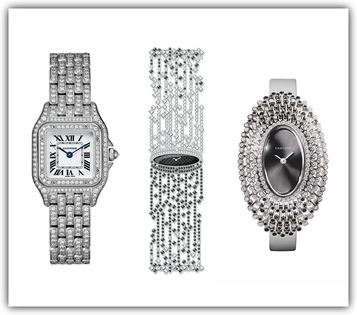 Cartier's new Libre and Panthère collections.
