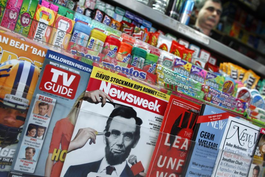 Newsweek on newsstand