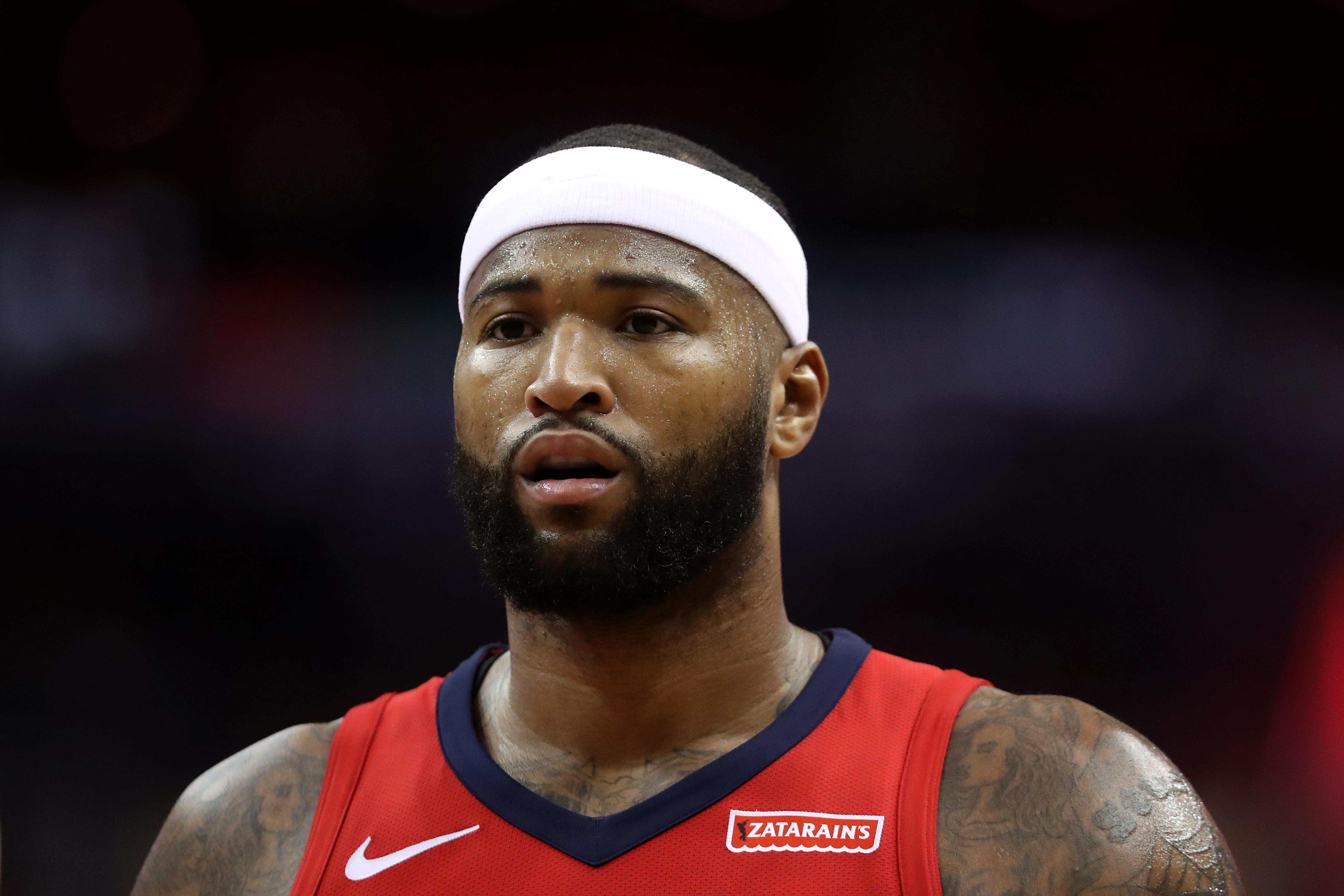DeMarcus Cousins Tweets For First Time Since Injury: 'This Sh-t Sucks!'