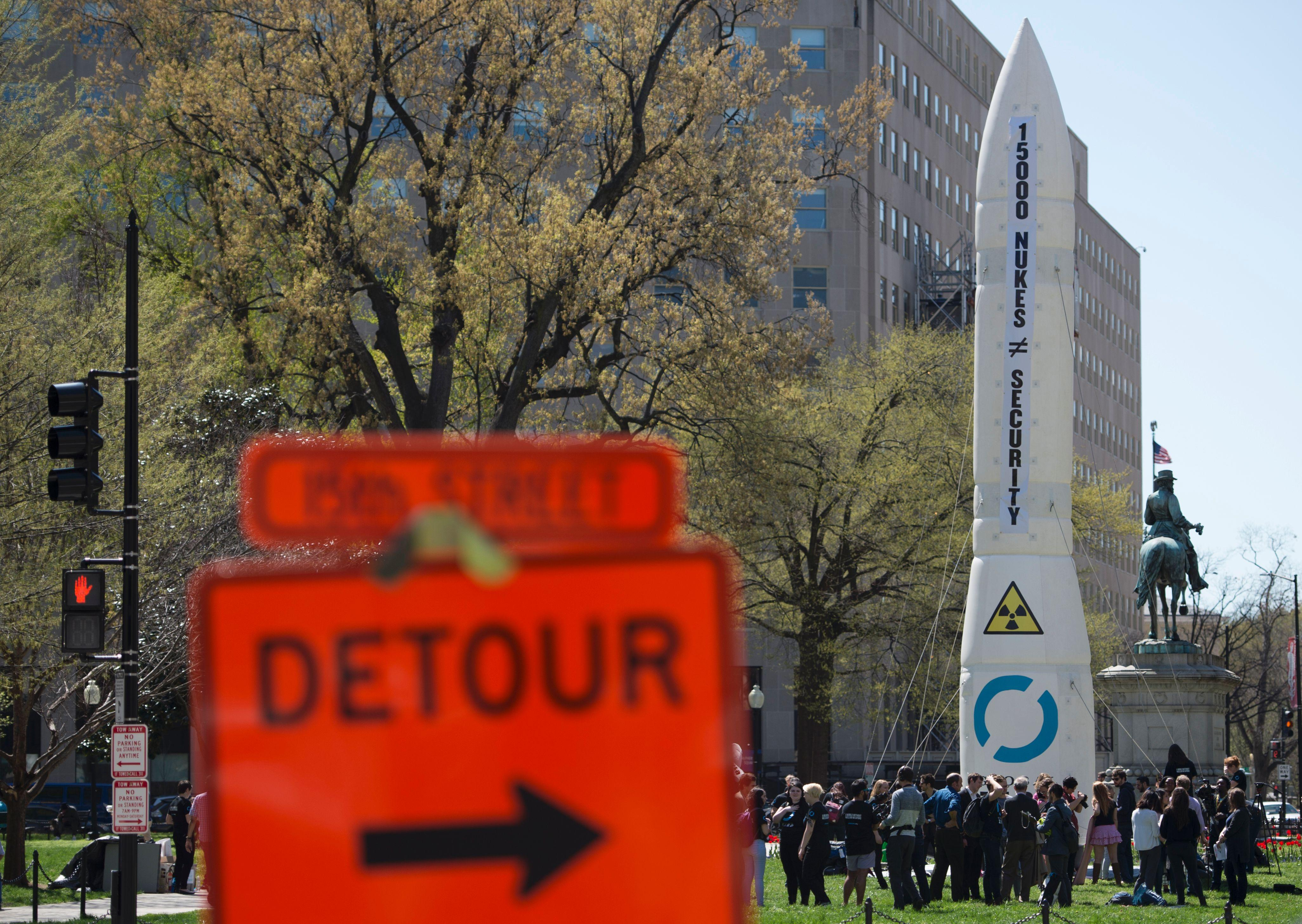 Anti Nuclear Weapon protest DC