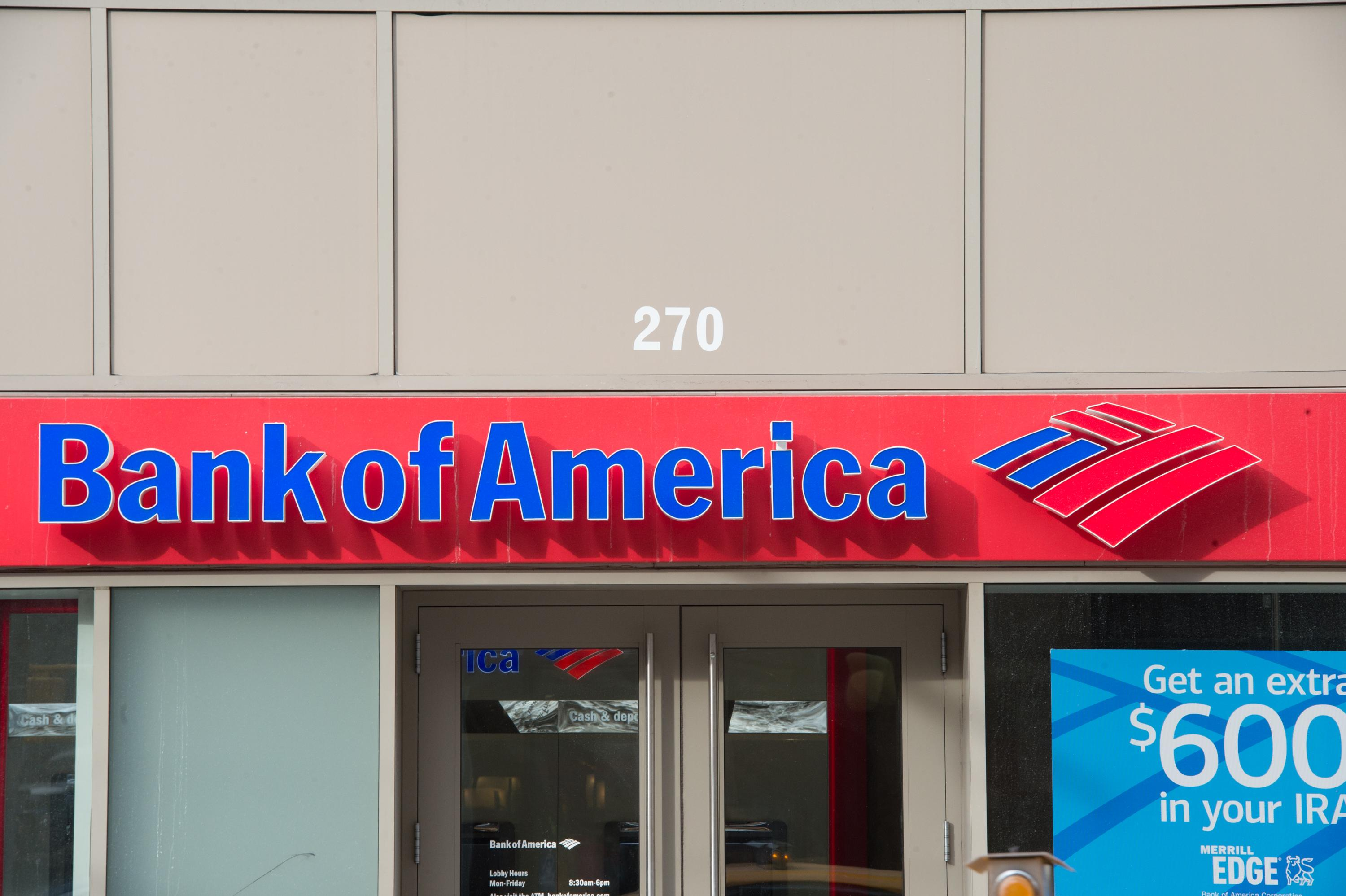Bank of America wants to talk to its customers who make guns
