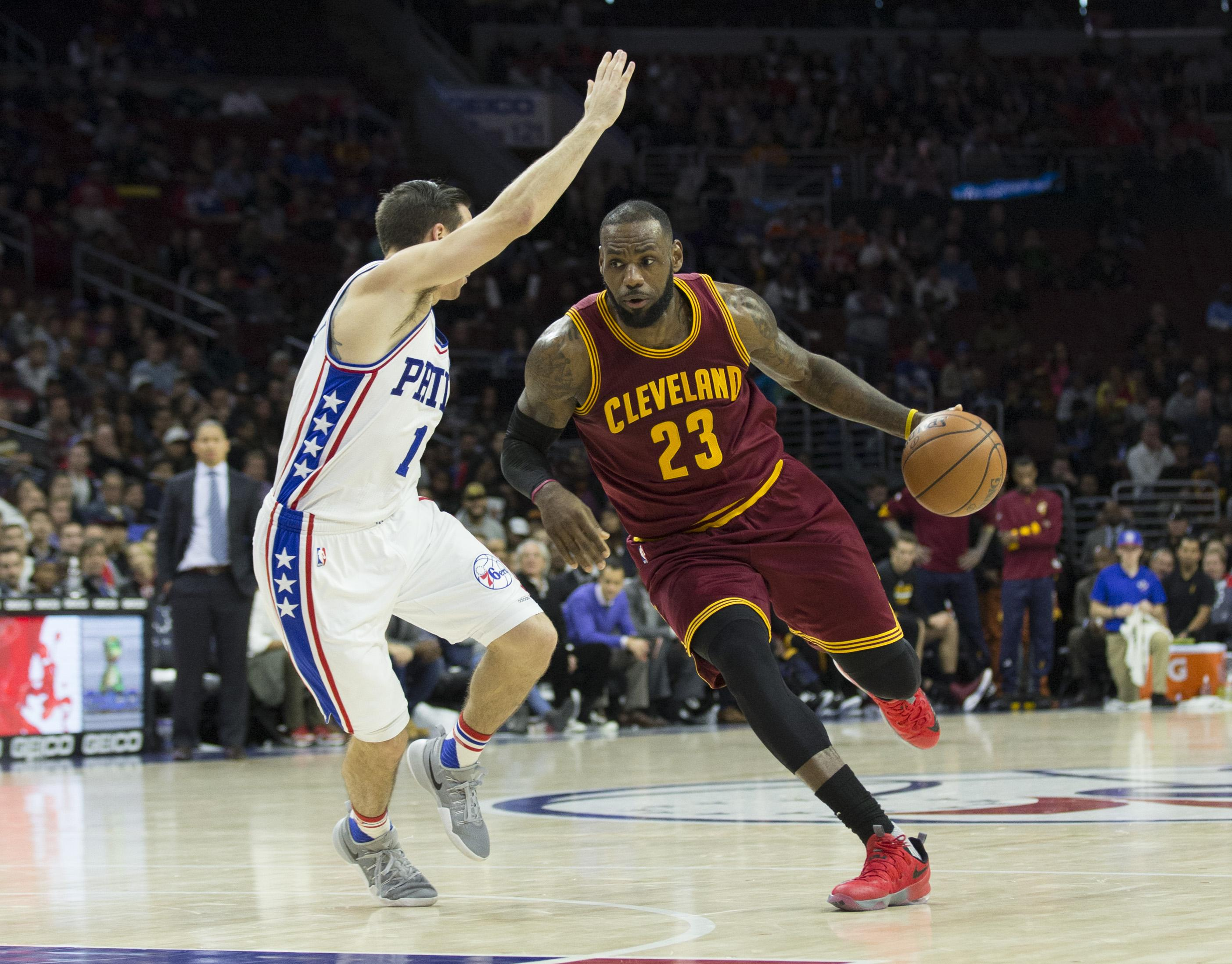 LeBron James becoming an old hand at triple doubles