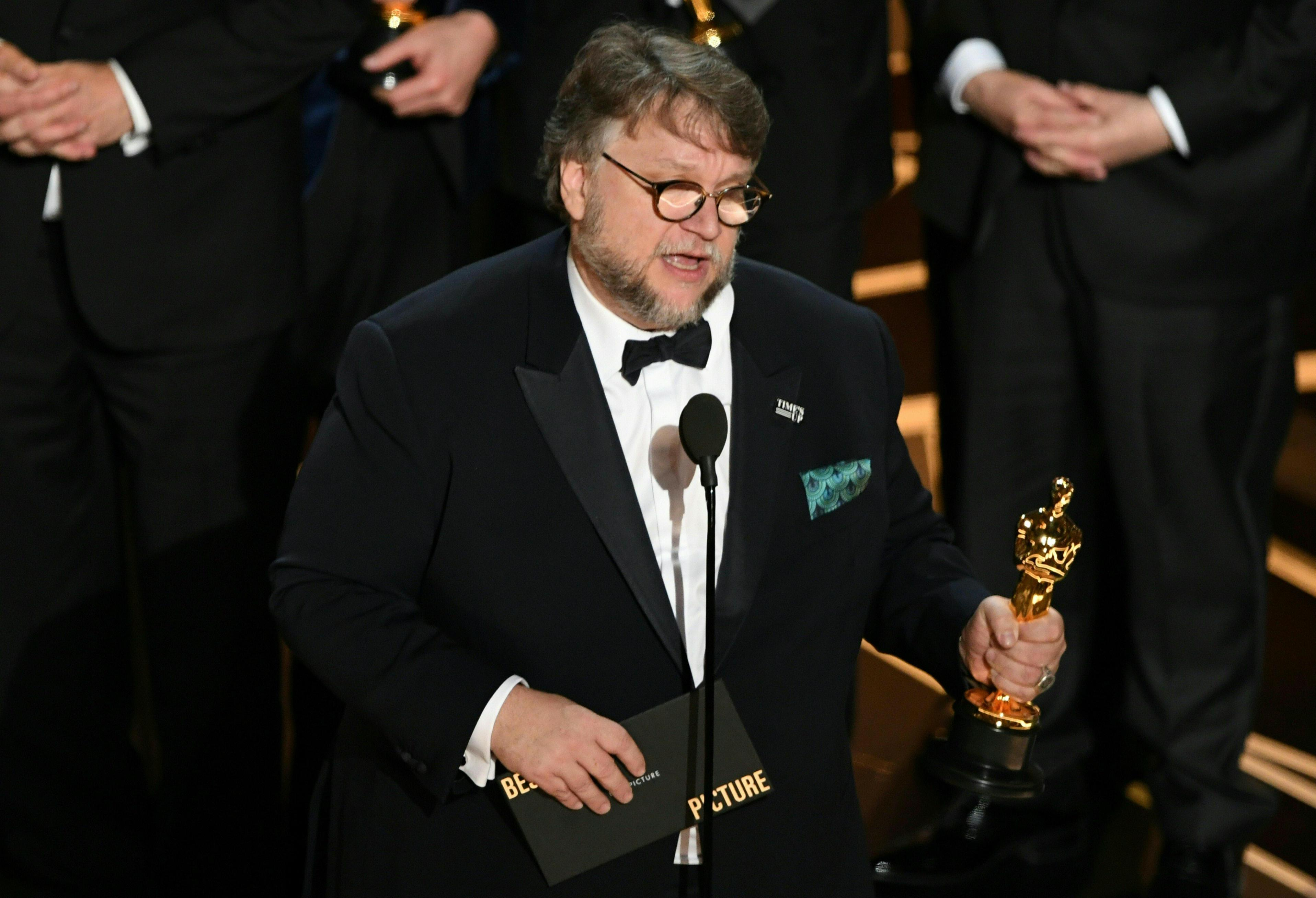 90th Oscars: Shape of Water leads at politically painted show