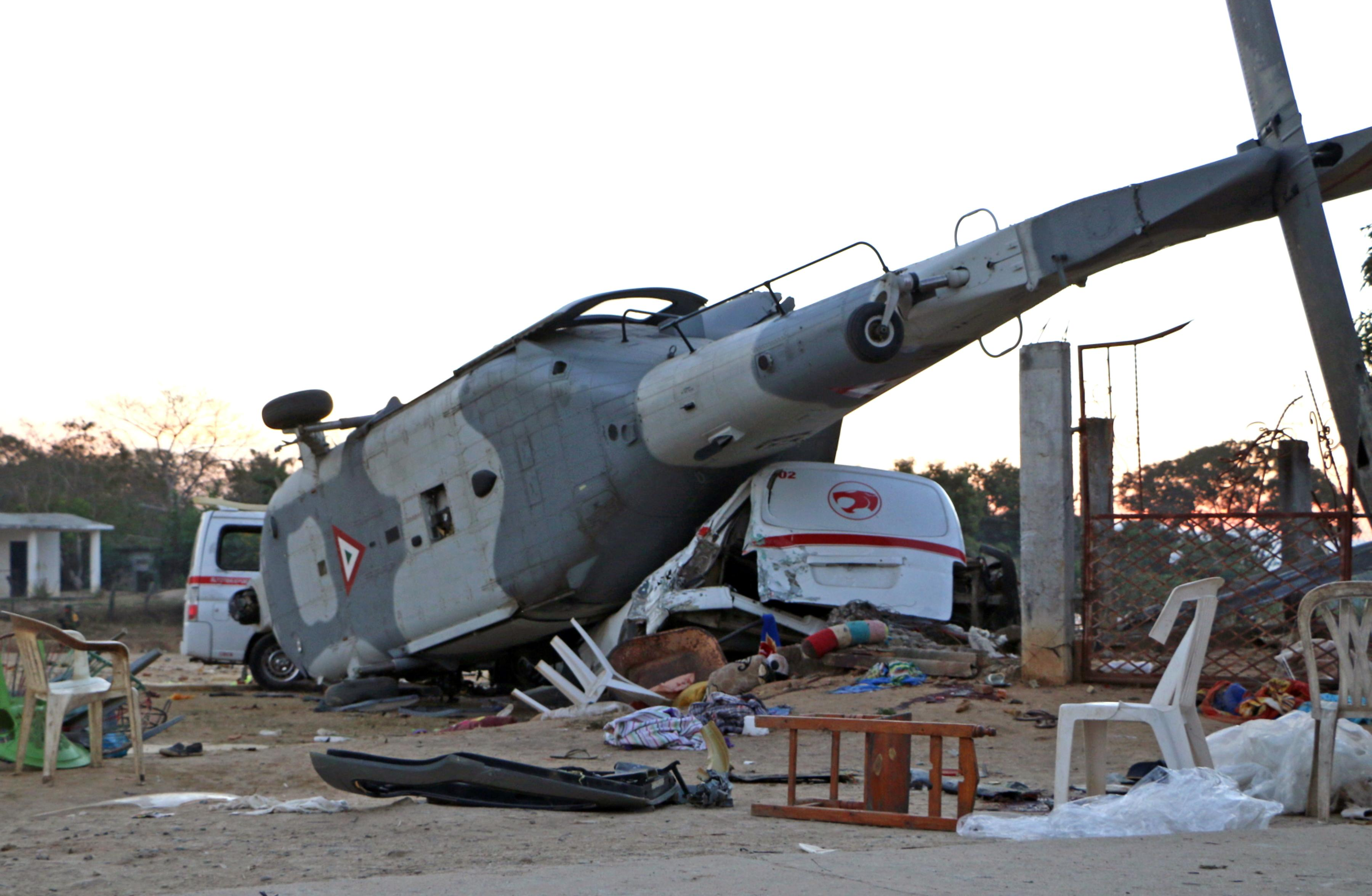 Marine Helicopter Crash: 4 Feared Dead After Chopper Went ...