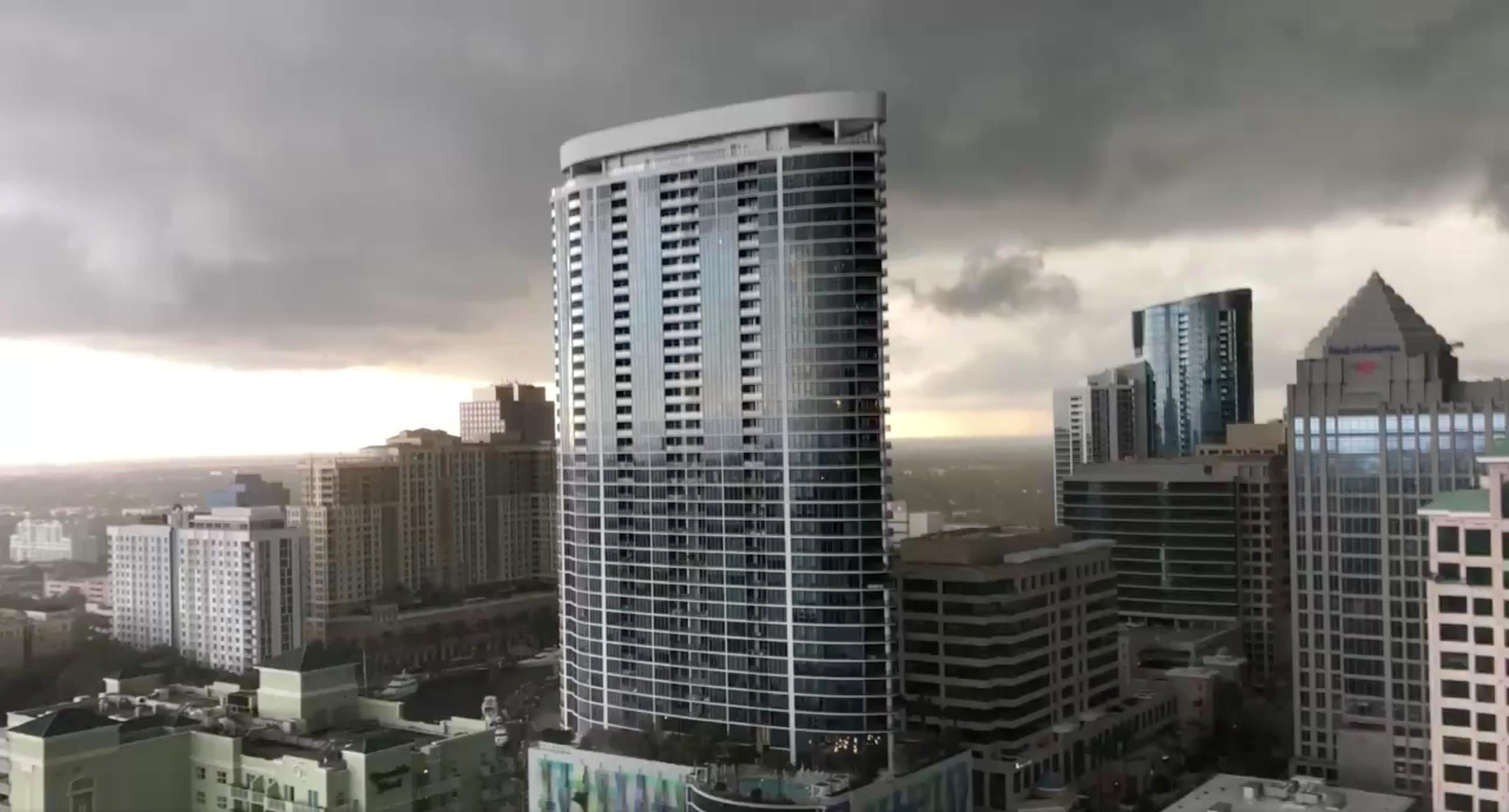 Two possible tornados spotted in Fort Lauderdale area