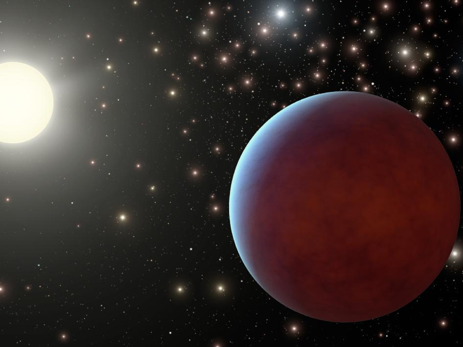 Scientists discover an extremely dark planet that absorbs 99 percent of starlight