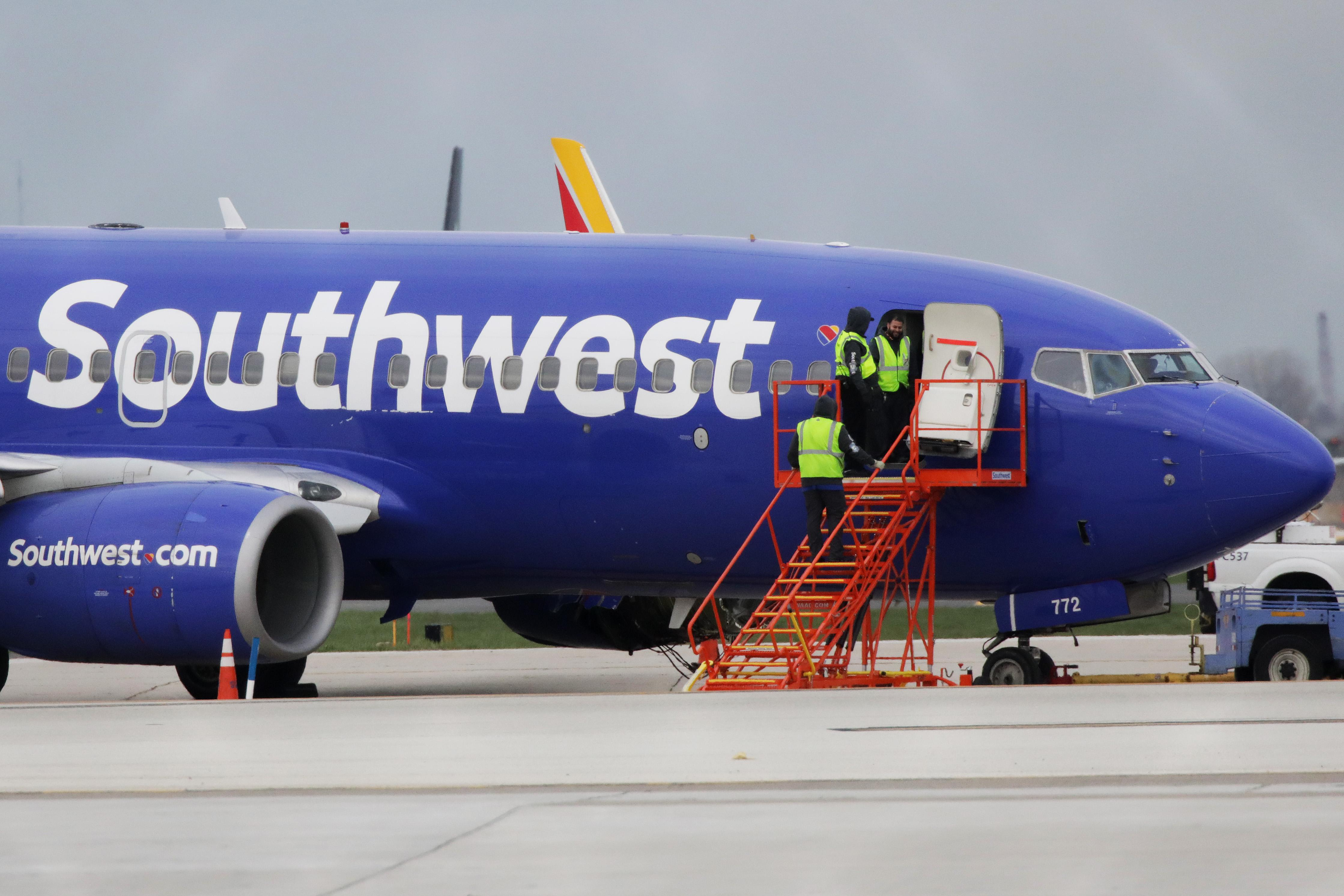 Southwest Flight 861 makes emergency landing In Dallas after losing cabin pressure