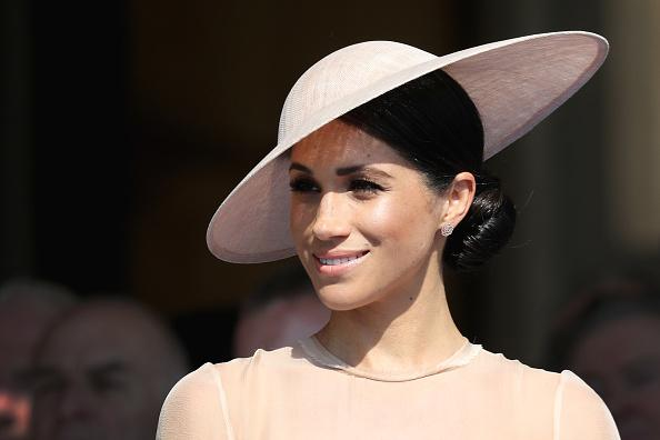 Designer Says Meghan Markle's Wedding Gown Copied Her Design