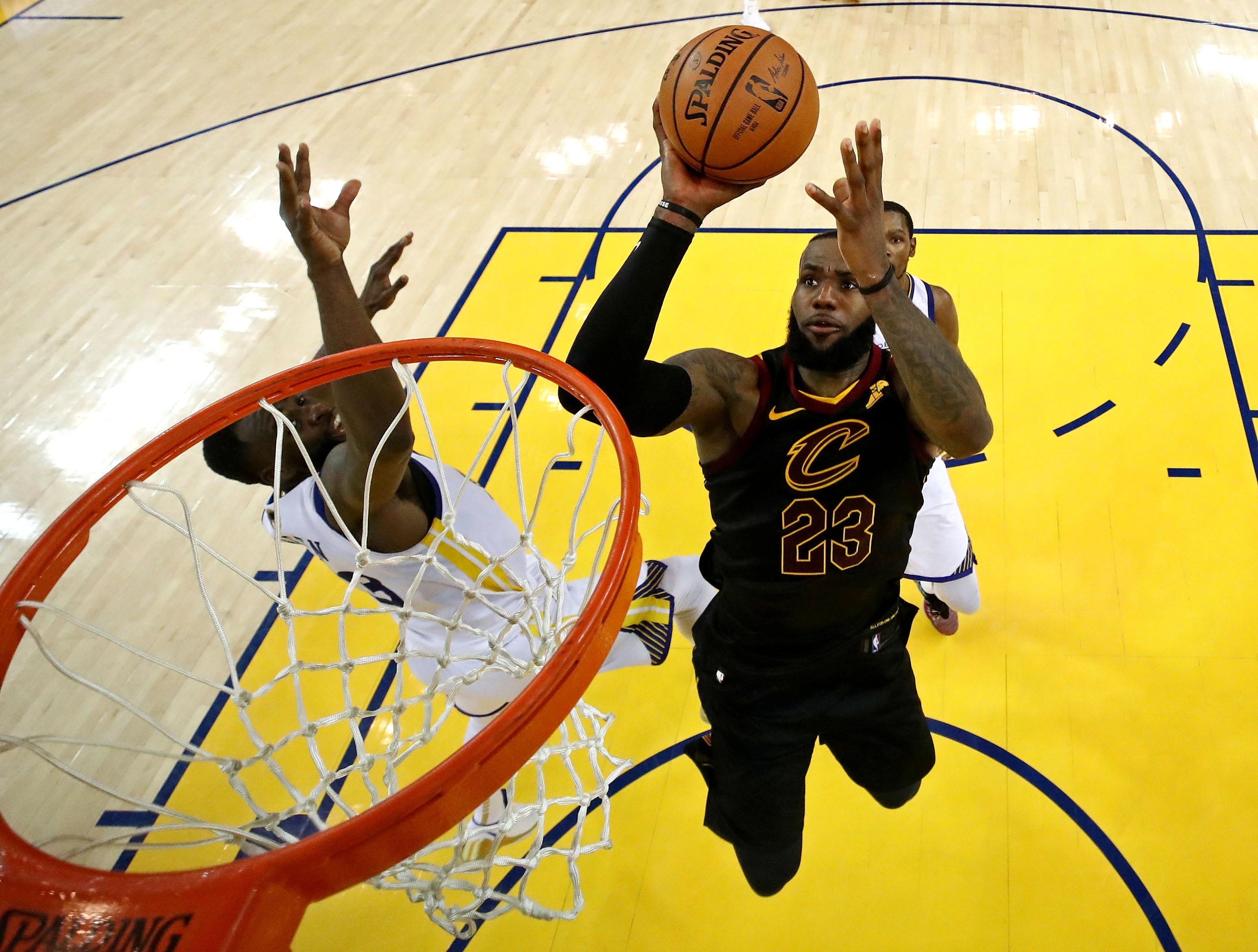 Golden State Warriors vs. Cleveland Cavaliers Game 2 ...