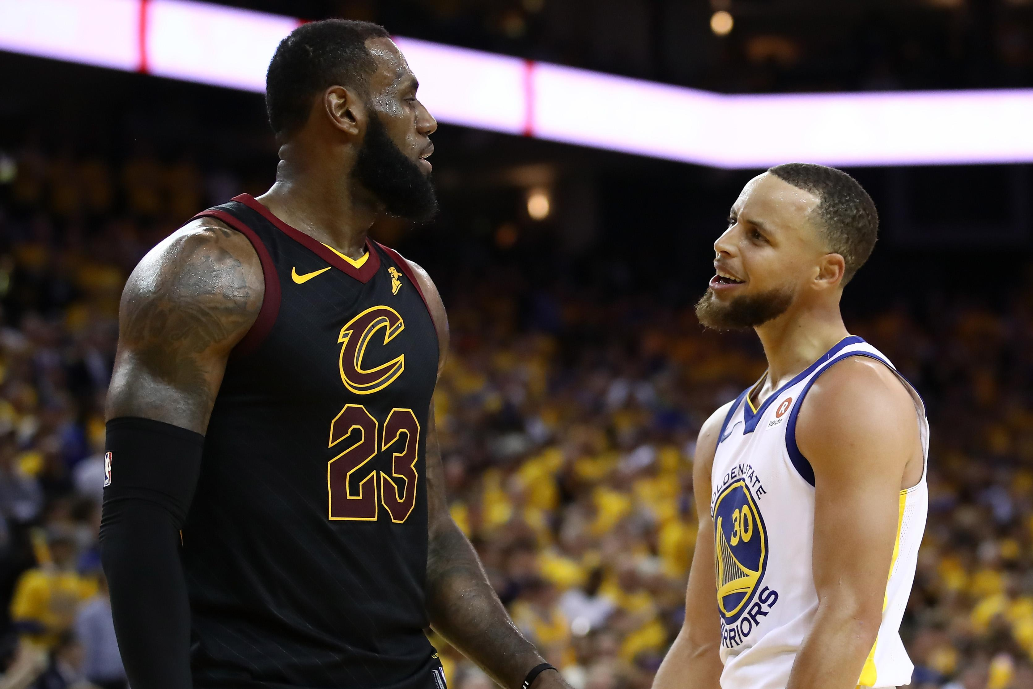 NBA Finals: Curry Dismisses Chatter With LeBron James As 'Bunch Of Nonsense'