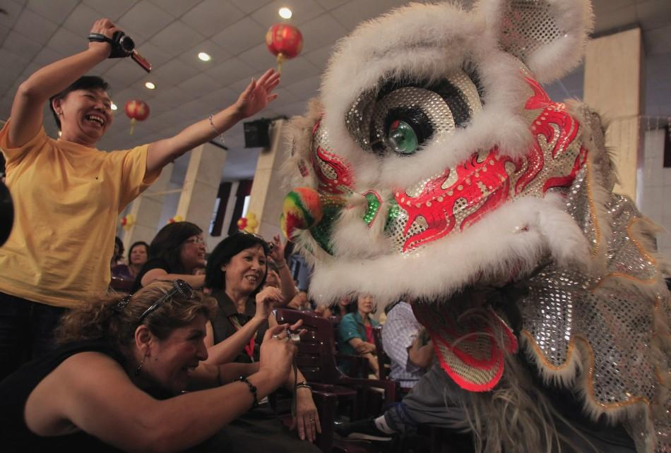 Chinese New Year 2012 Photos: Dragon-Dance, Lion-Dance and ...