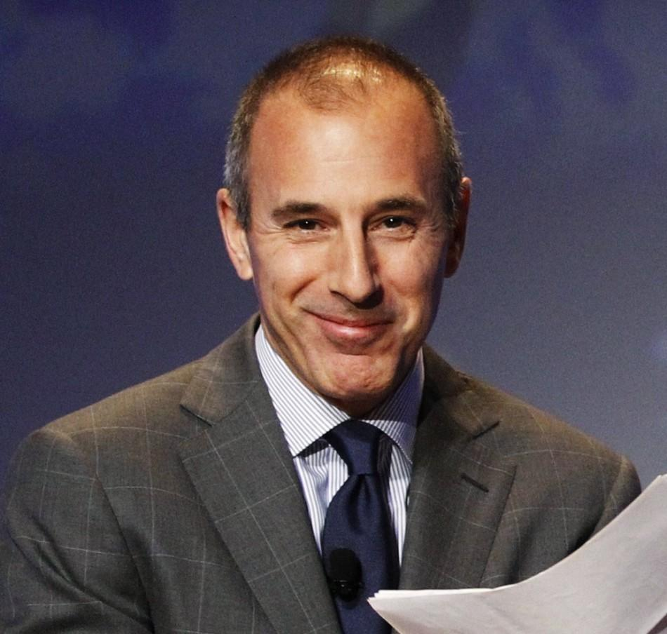 Matt lauer is not leaving 39 today 39 show signs new contract - Matt today show ...