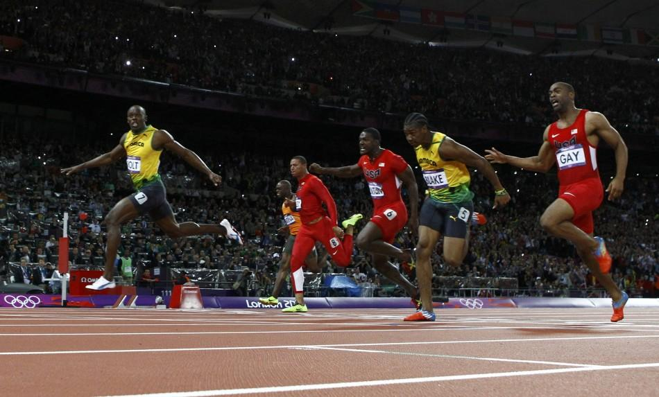 Usain Bolt Clinches Gold In Men's 100m At The 2012 London ...