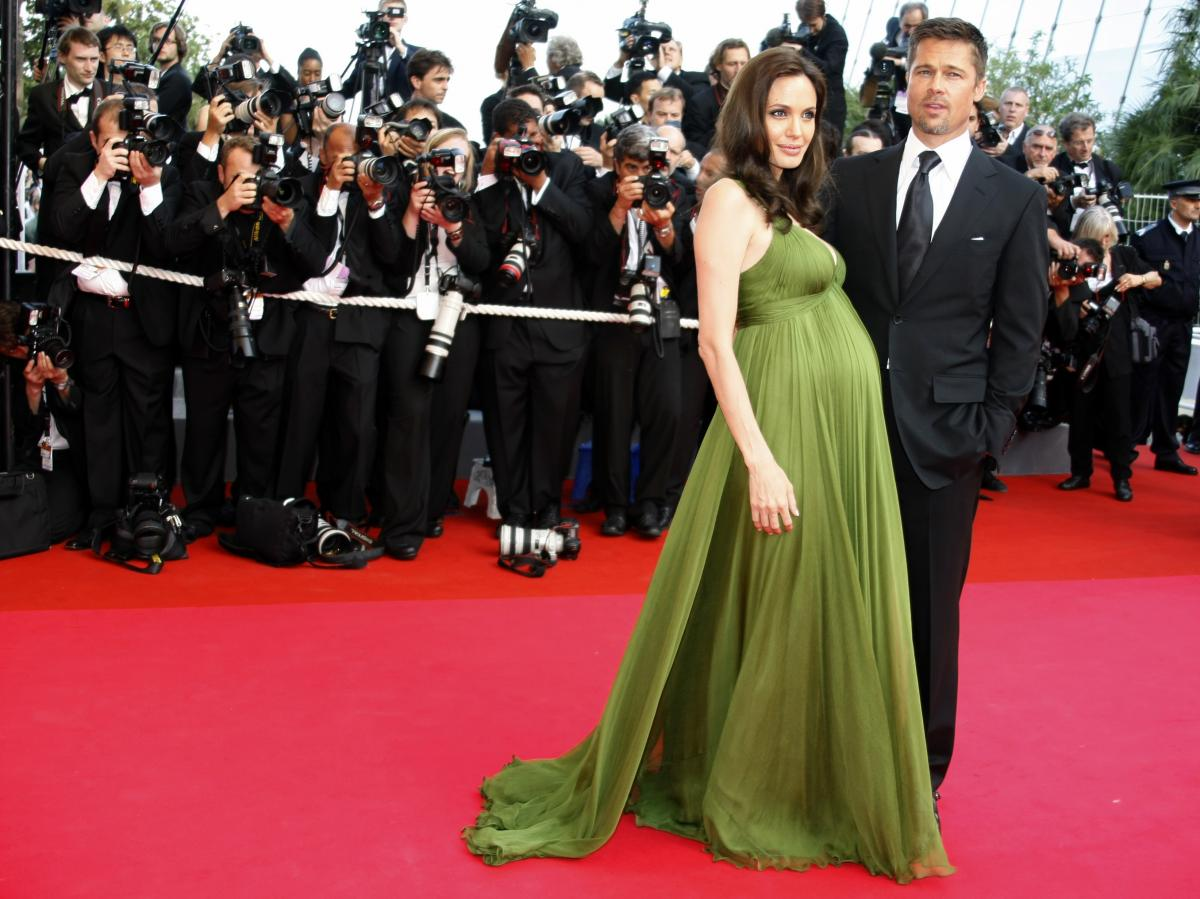 Pictures Of Angelina Jolie Pregnant
