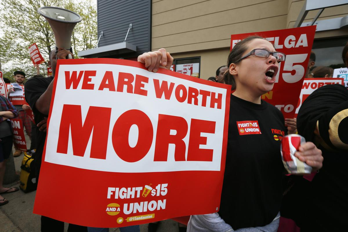 Fast Food Low Pay New York Times