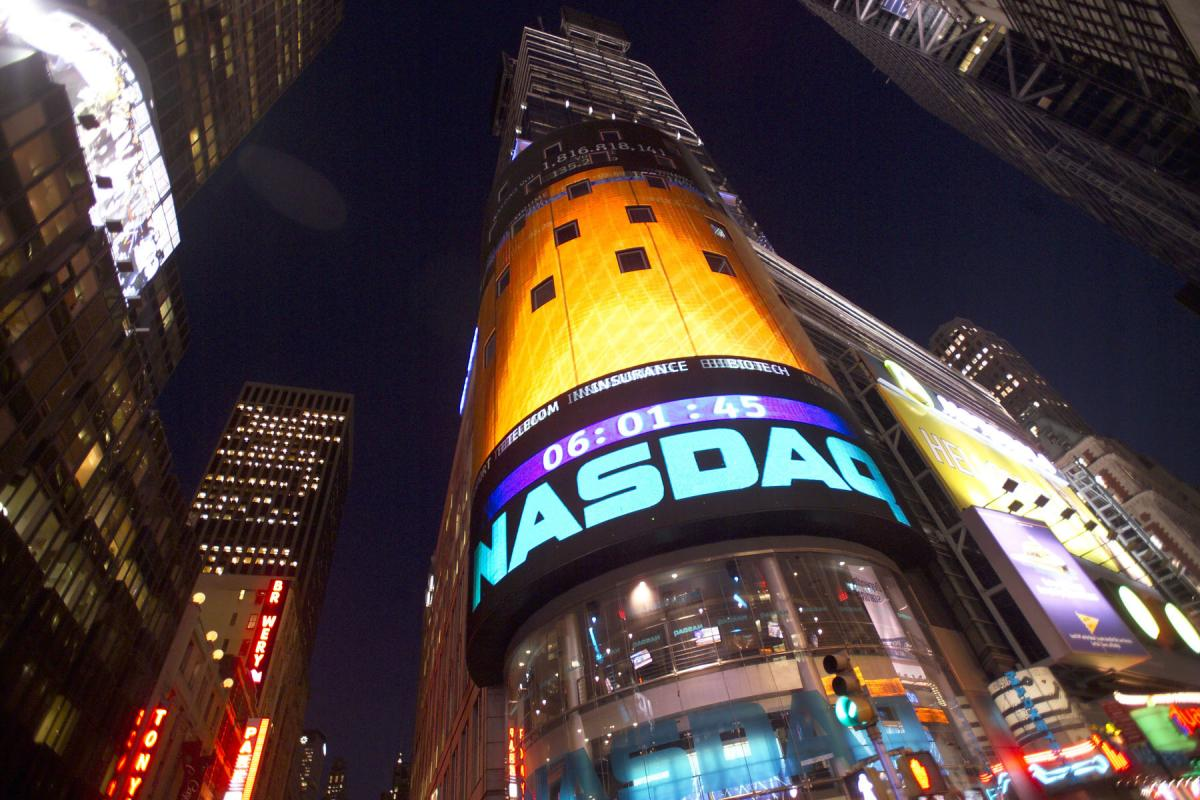 Nasdaq Composite Breaks All Time High Set During Dot Com