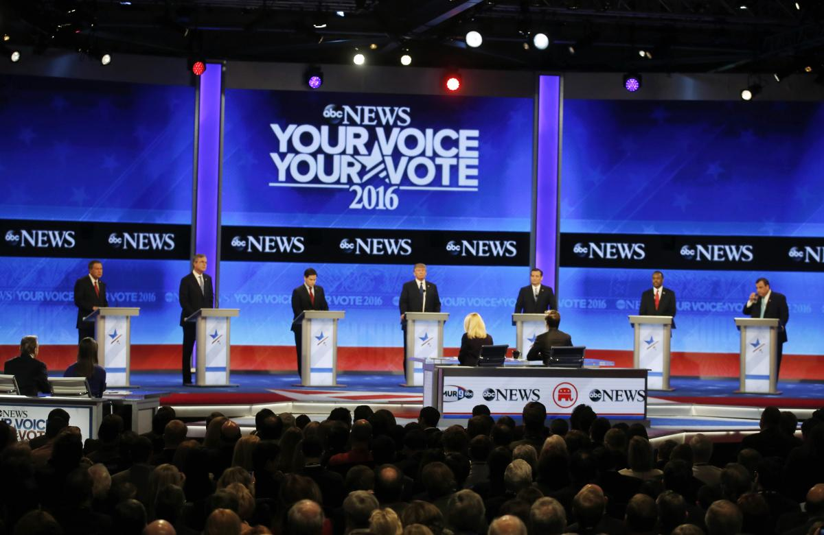 Election 2016: Republican Presidential Candidates Don't ...